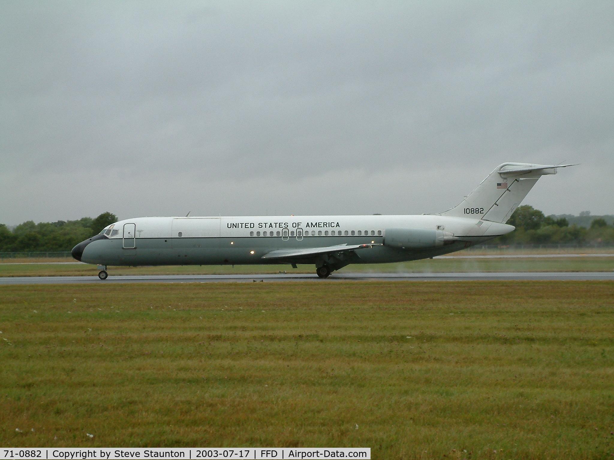 71-0882, 1971 McDonnell Douglas C-9A Nightingale C/N 47541/670, Royal International Air Tattoo 2003