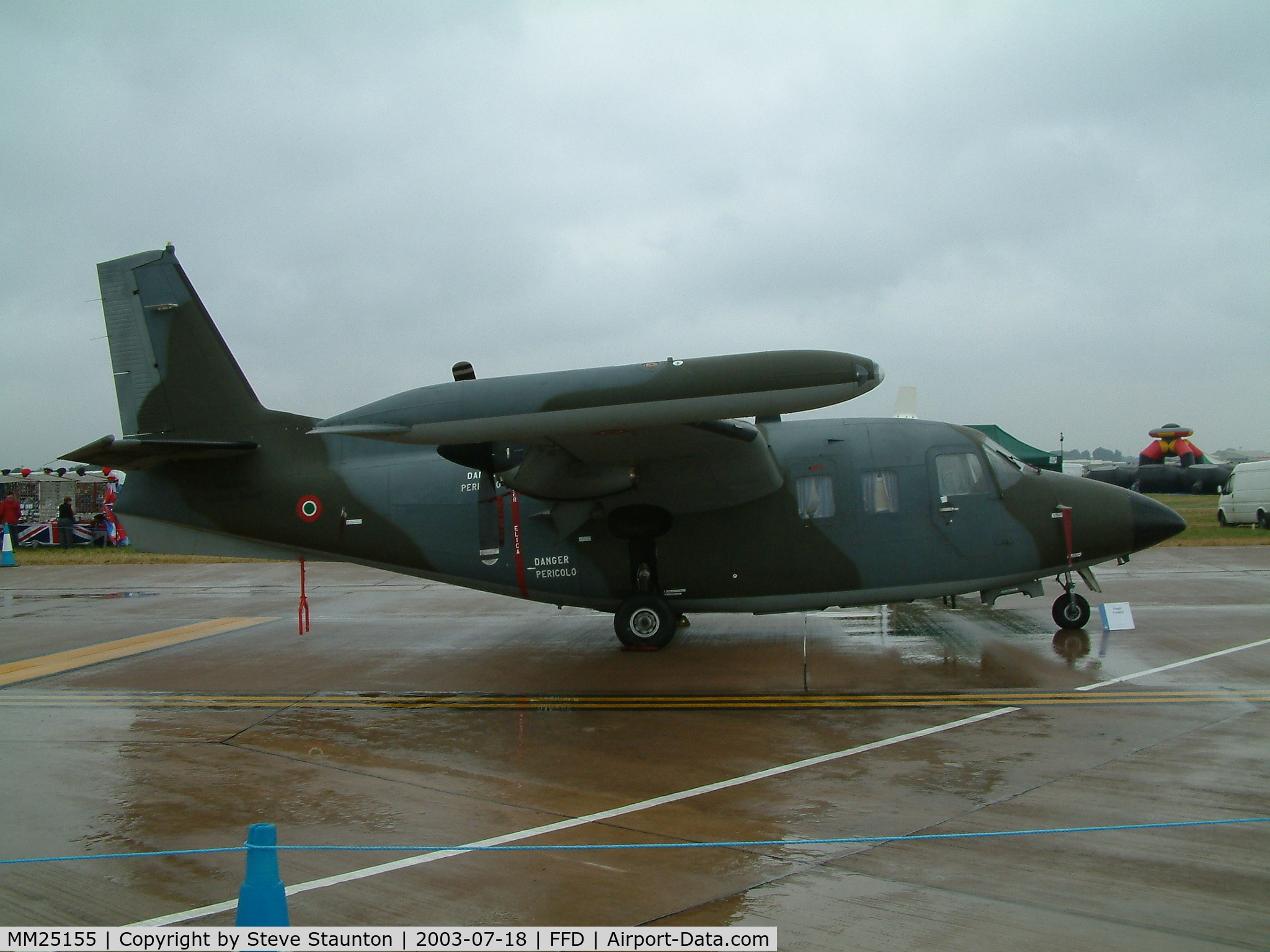 MM25155, Piaggio P-166DL-3 C/N 474, Royal International Air Tattoo 2003