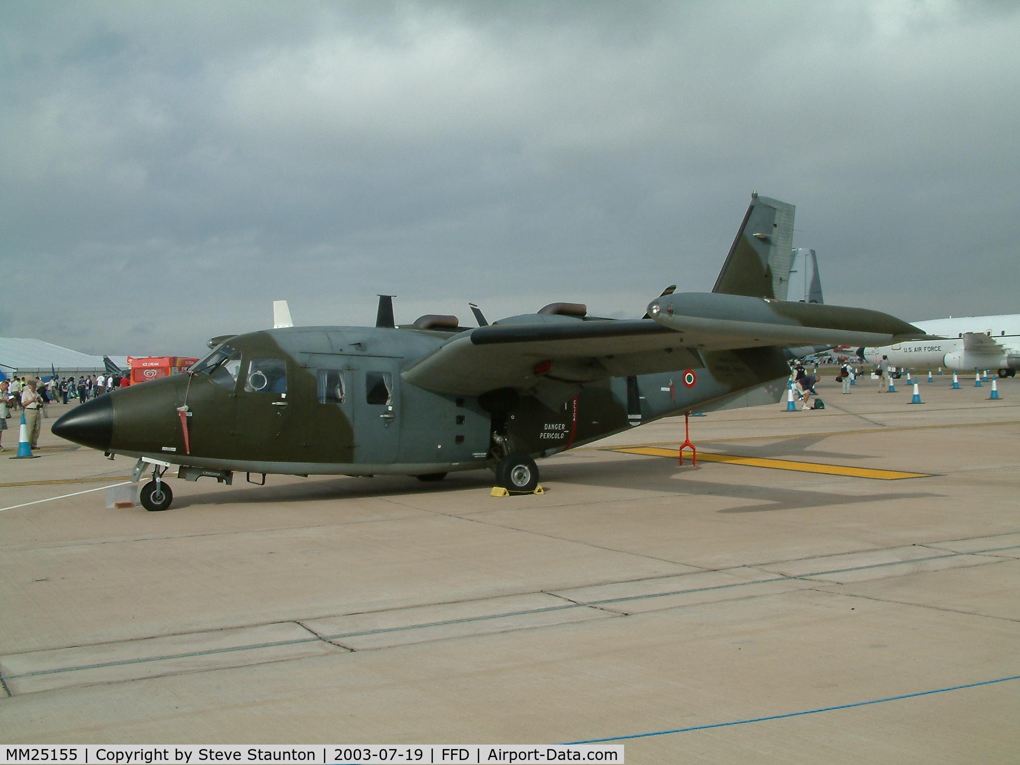 MM25155, Piaggio P-166DL-3 C/N 474, Royal International Air Tattoo 2003