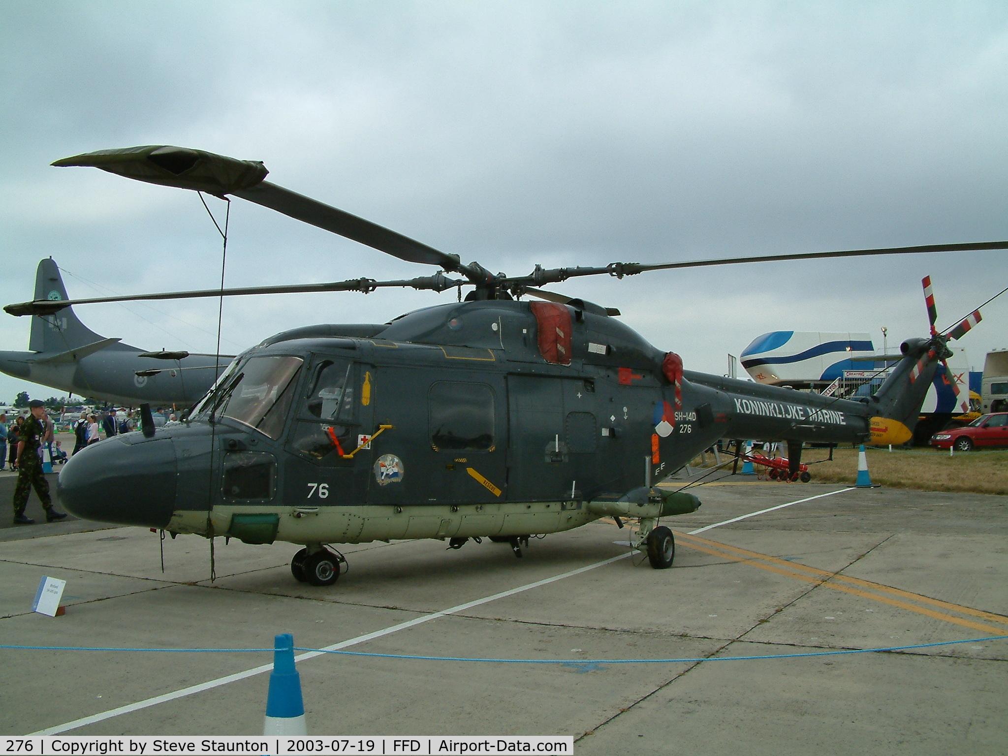 276, Westland SH-14D Lynx C/N 174, Royal International Air Tattoo 2003