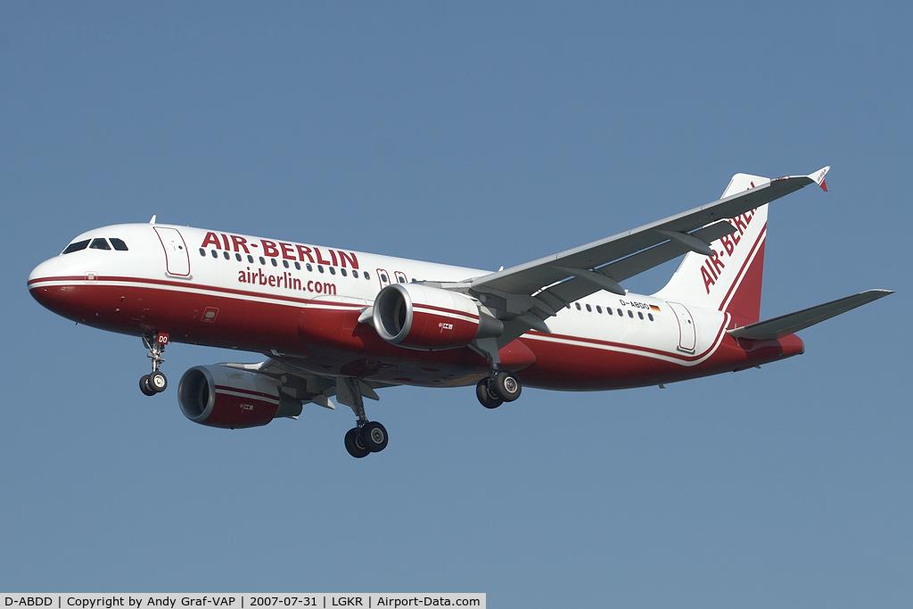 D-ABDD, 2006 Airbus A320-214 C/N 2685, Air Berlin A320