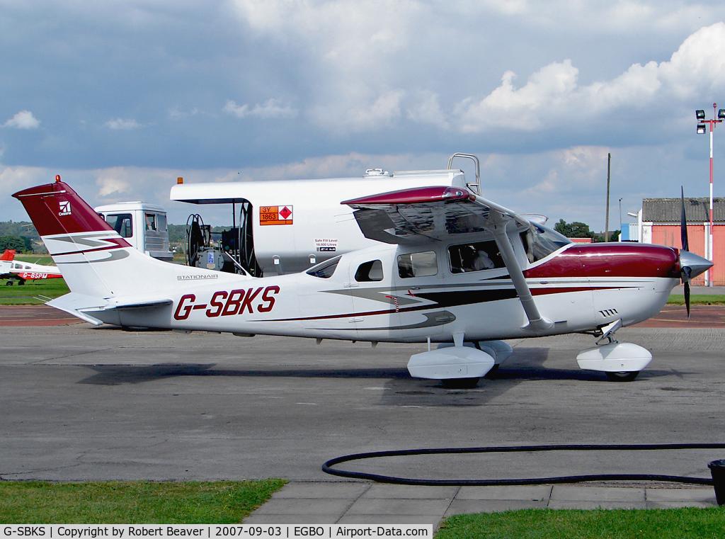 G-SBKS, 2007 Cessna 206H Stationair C/N 206-08290, Cessna 206H Stationair