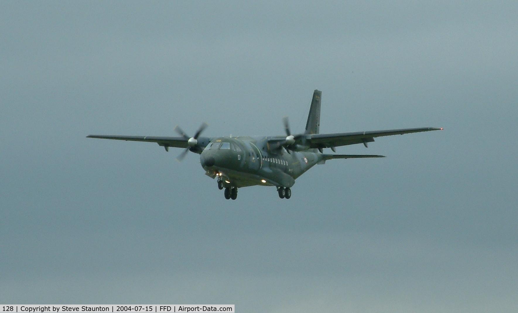 128, Airtech CN-235-200M C/N C128, Royal International Air Tattoo 2004