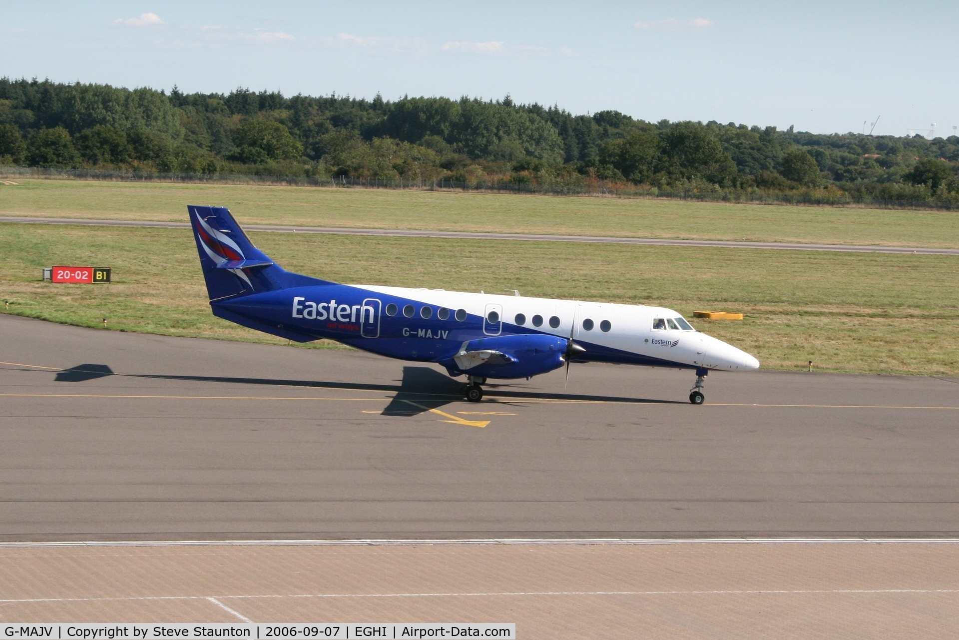 G-MAJV, 1995 British Aerospace Jetstream 41 C/N 41074, Taken at Southampton September 2006