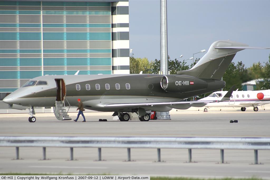 Jet Privato Niki Lauda : Aircraft oe hii bombardier challenger bd a c