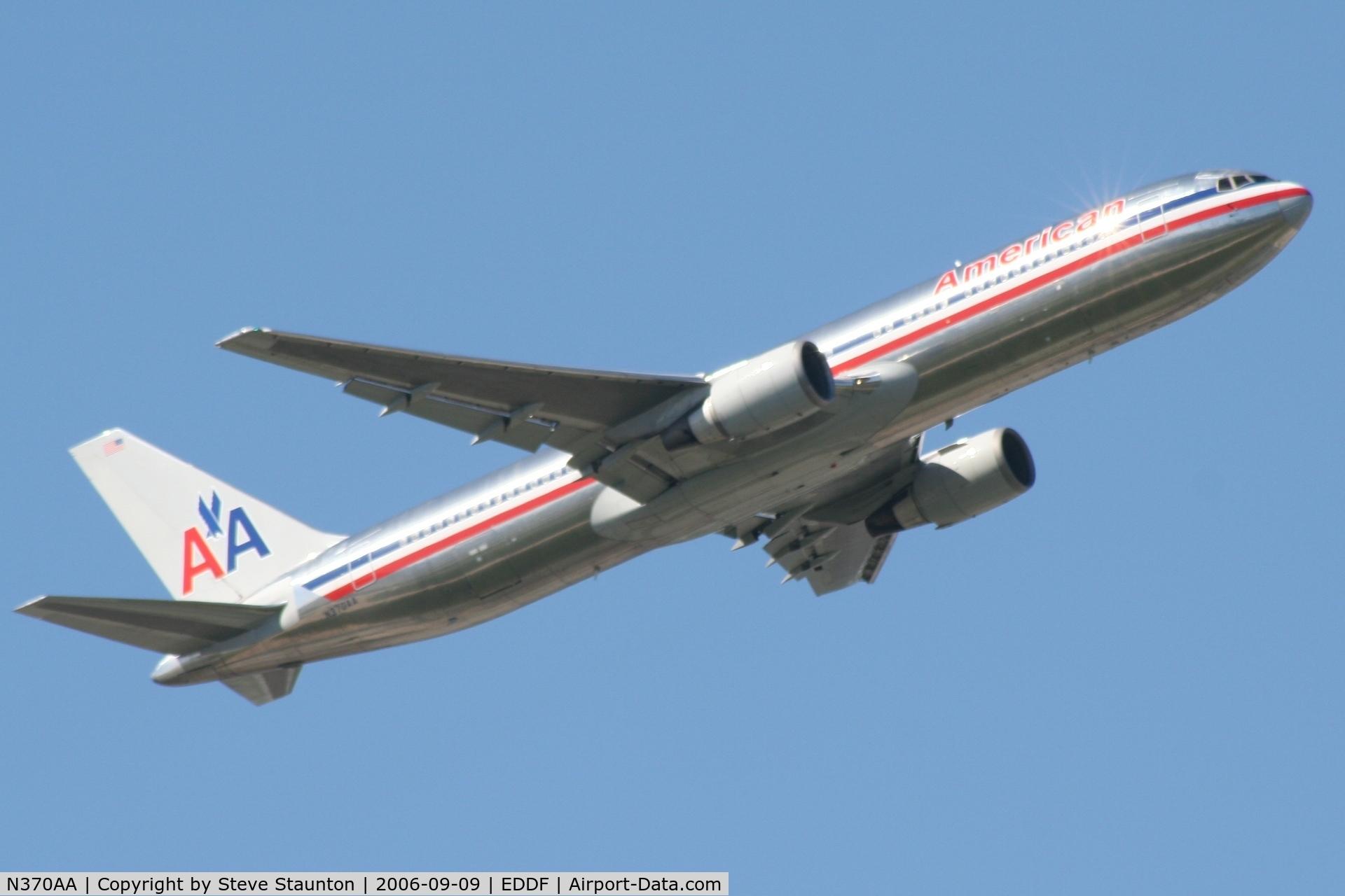 N370AA, 1992 Boeing 767-323 C/N 25197, Taken at Frankfurt September 2006