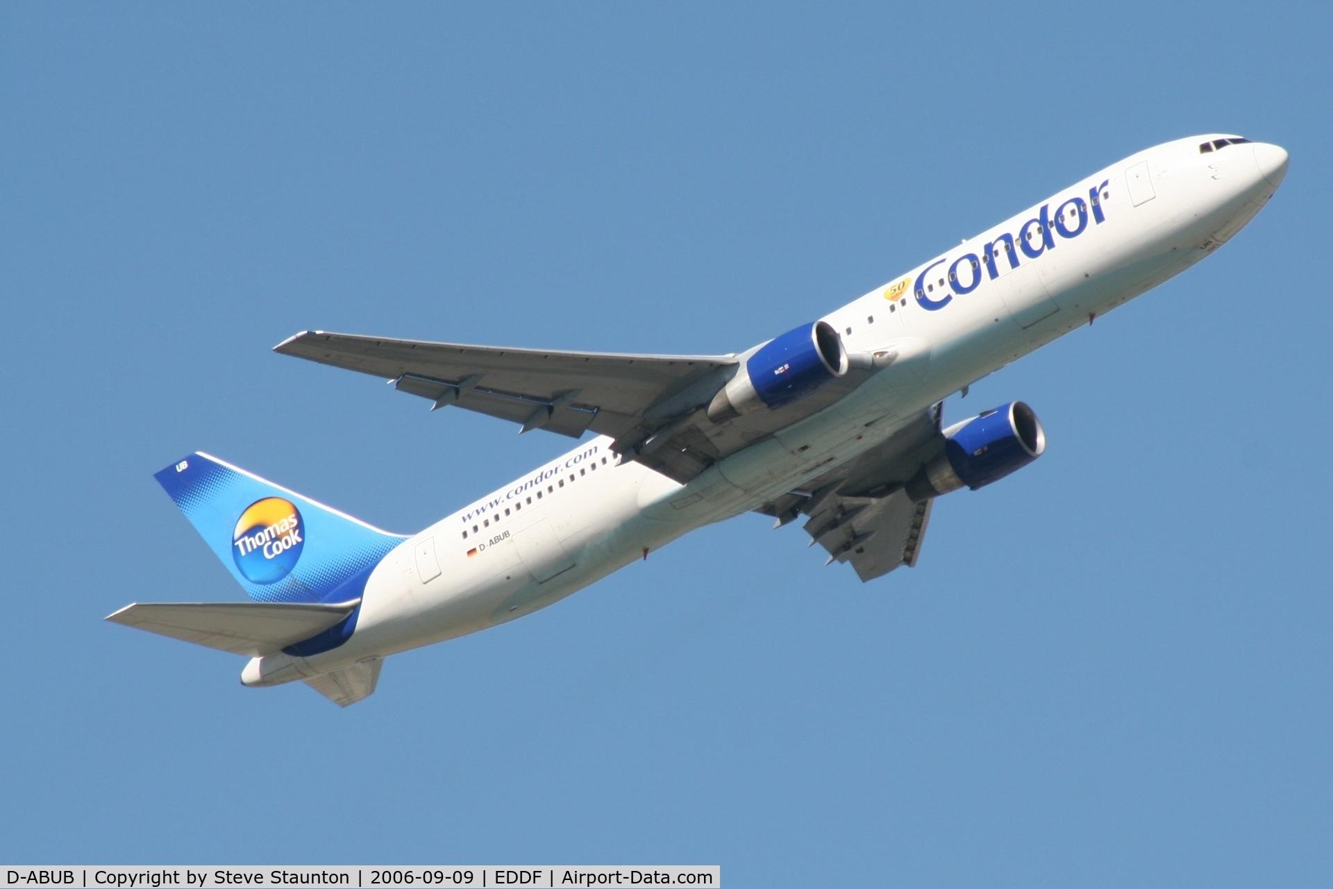 D-ABUB, 1992 Boeing 767-330/ER C/N 26987, Taken at Frankfurt September 2006