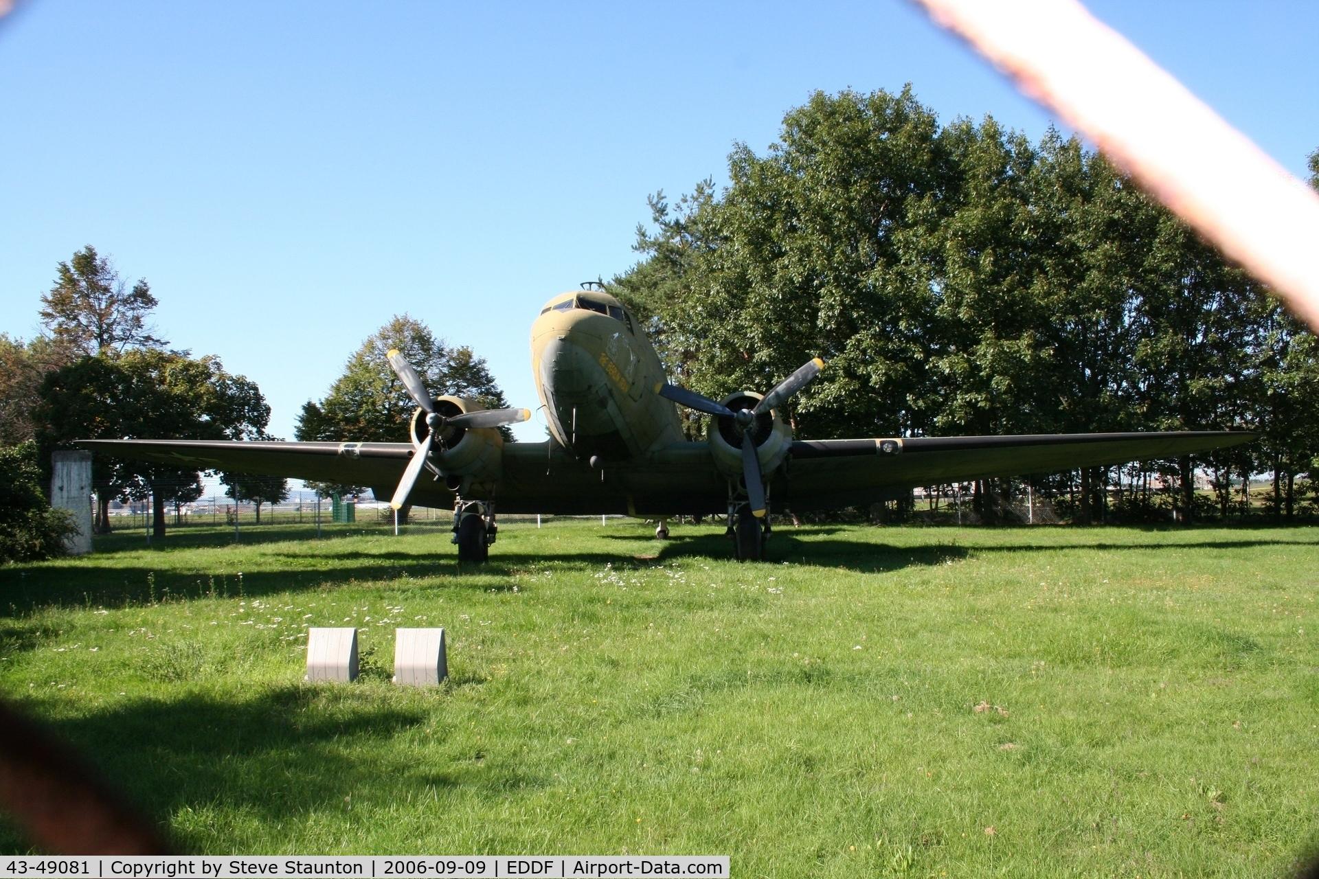 43-49081, 1943 Douglas C-47B Skytrain C/N 14897/26342, Taken at Frankfurt September 2006
