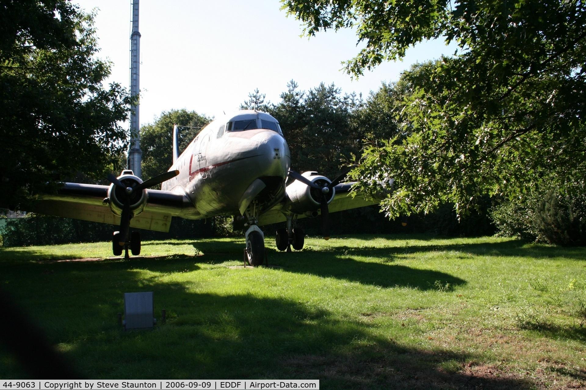 44-9063, 1944 Douglas C-54E Skymaster (DC-4) C/N 27289, Taken at Frankfurt September 2006