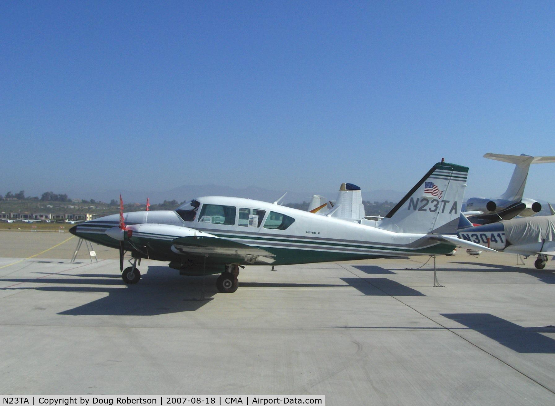N23TA, 1978 Piper PA-23-250 Aztec F C/N 27-7854114, 1978 Piper PA-23-250 AZTEC F, two Lycoming IO-540-C4B5 250 Hp each