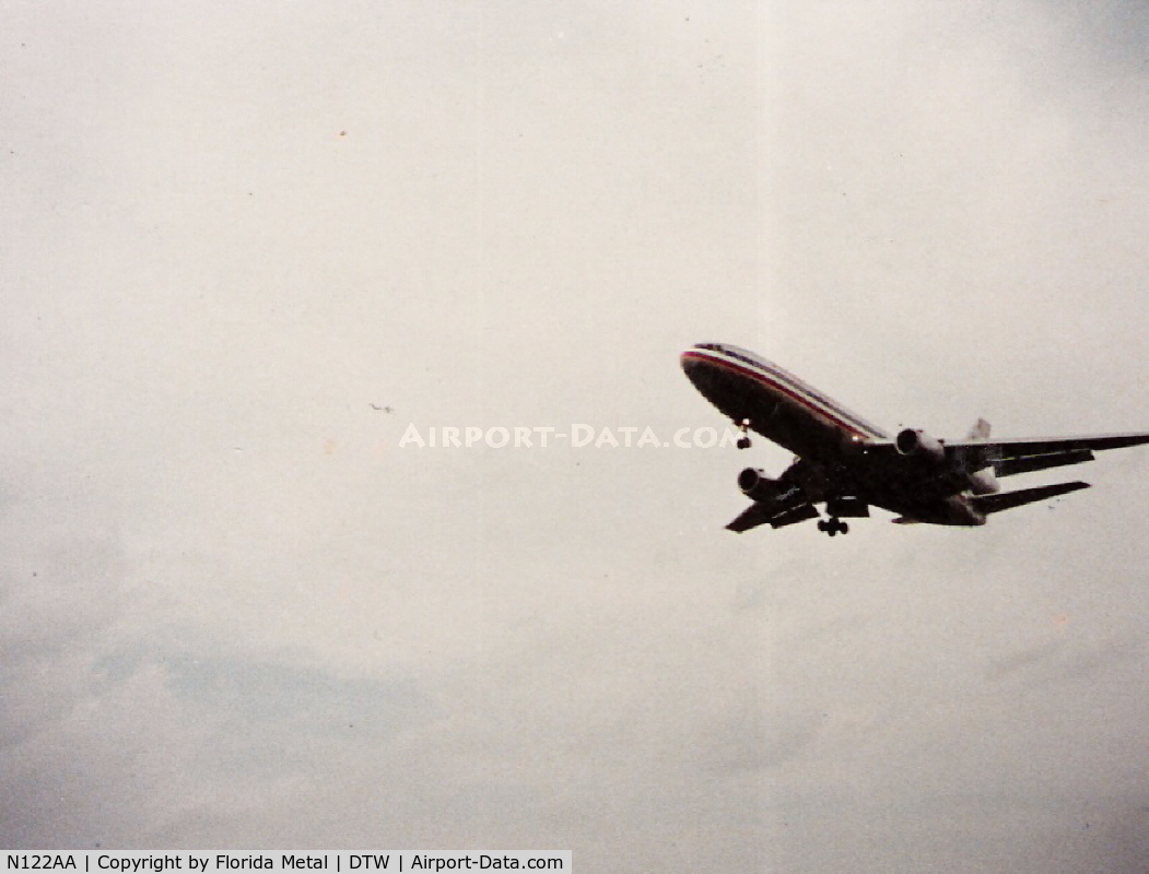 N122AA, 1972 McDonnell Douglas DC-10-10 C/N 46522, AA DC-10