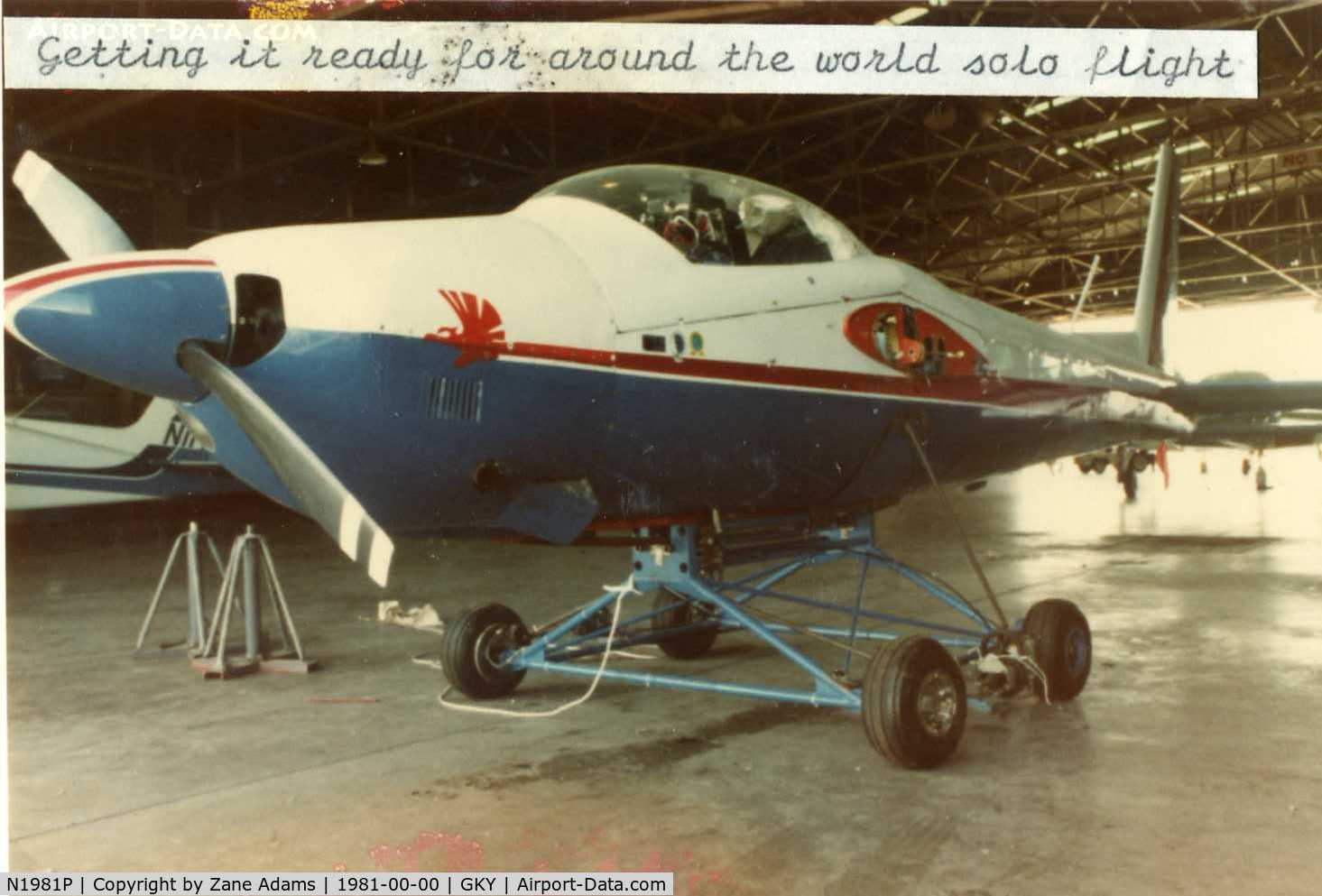 N1981P, Bede BD-2 C/N 01, World Record holder - http://records.fai.org/general_aviation/aircraft.asp?id=872