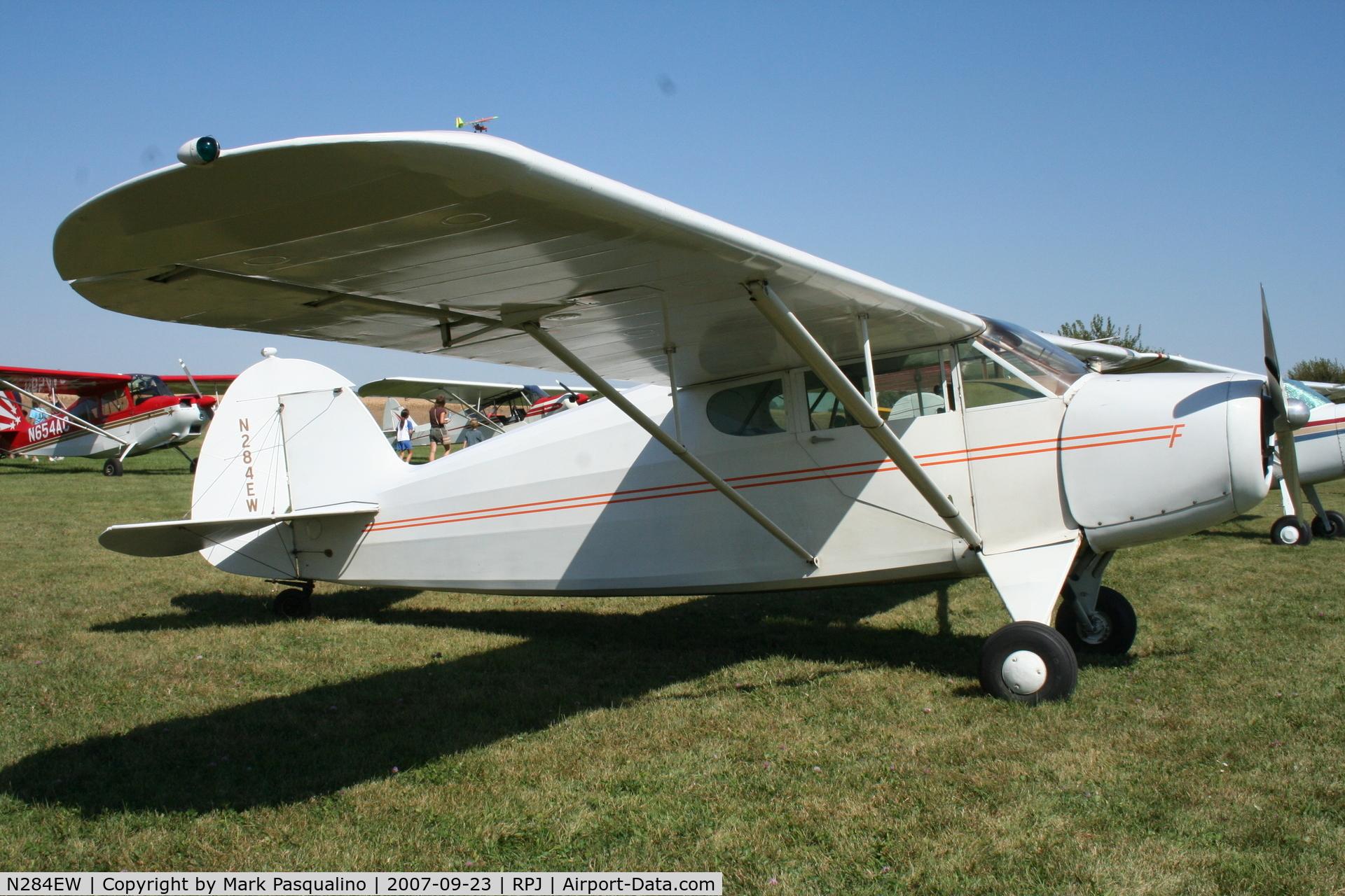 N284EW, 1941 Funk B75L C/N 210, Funk B75L
