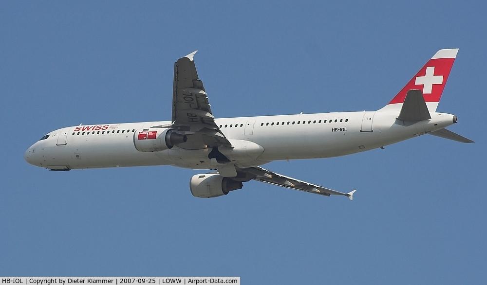 HB-IOL, 1999 Airbus A321-111 C/N 1144, SWISS A321
