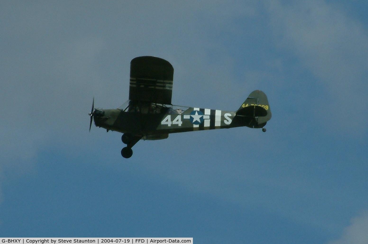 G-BHXY, 1944 Piper L-4H Grasshopper (J3C-65D) C/N 11905, Royal International Air Tattoo 2004