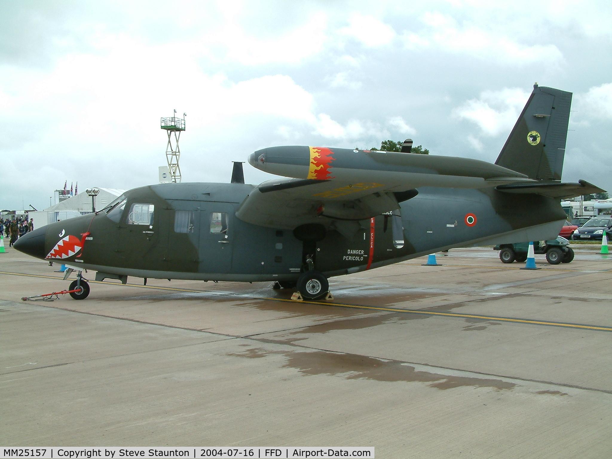 MM25157, Piaggio P-166DL-3 C/N 476, Royal International Air Tattoo 2004