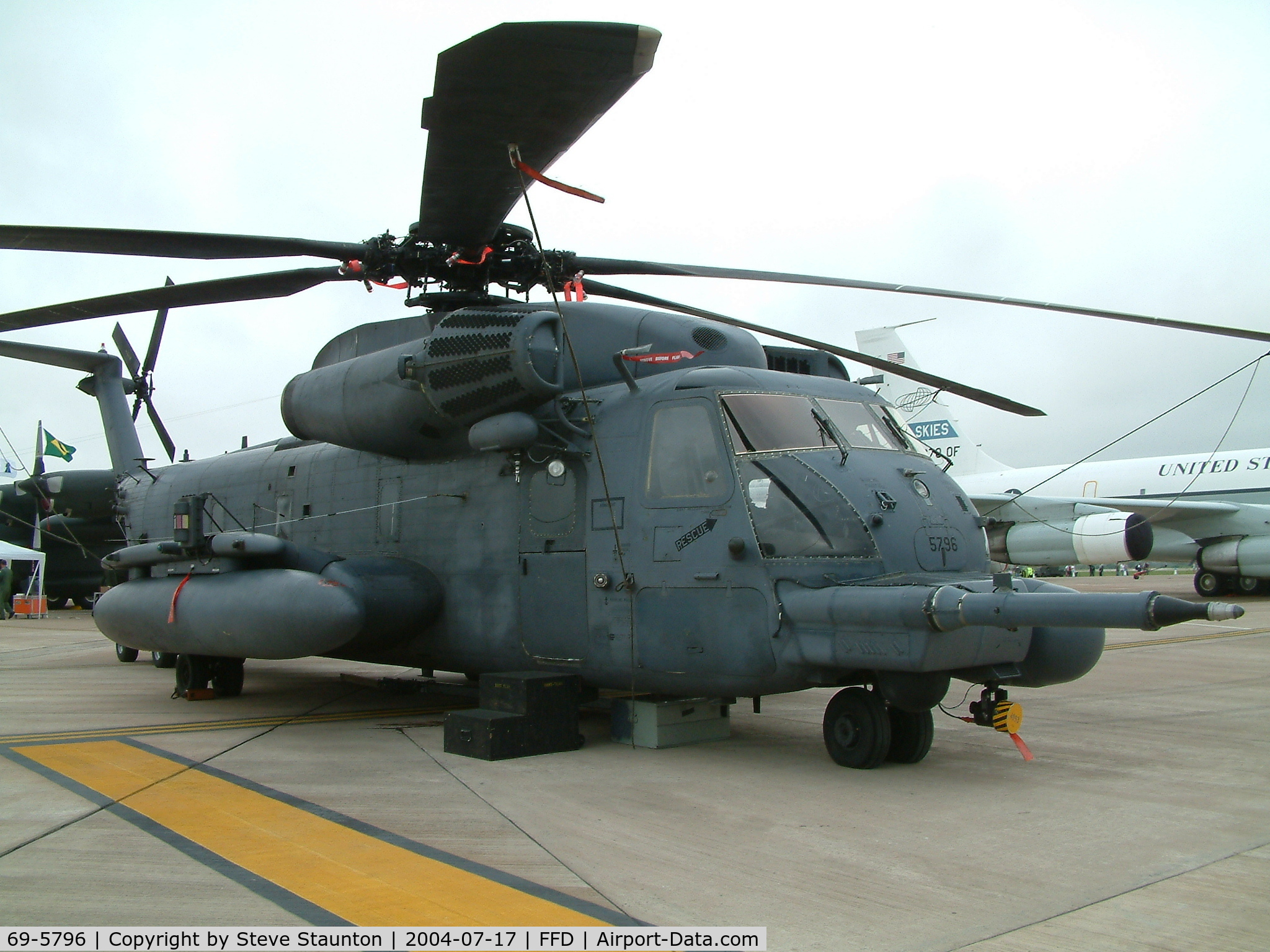 69-5796, 1969 Sikorsky MH-53M Pave Low IV C/N 65-251, Royal International Air Tattoo 2004