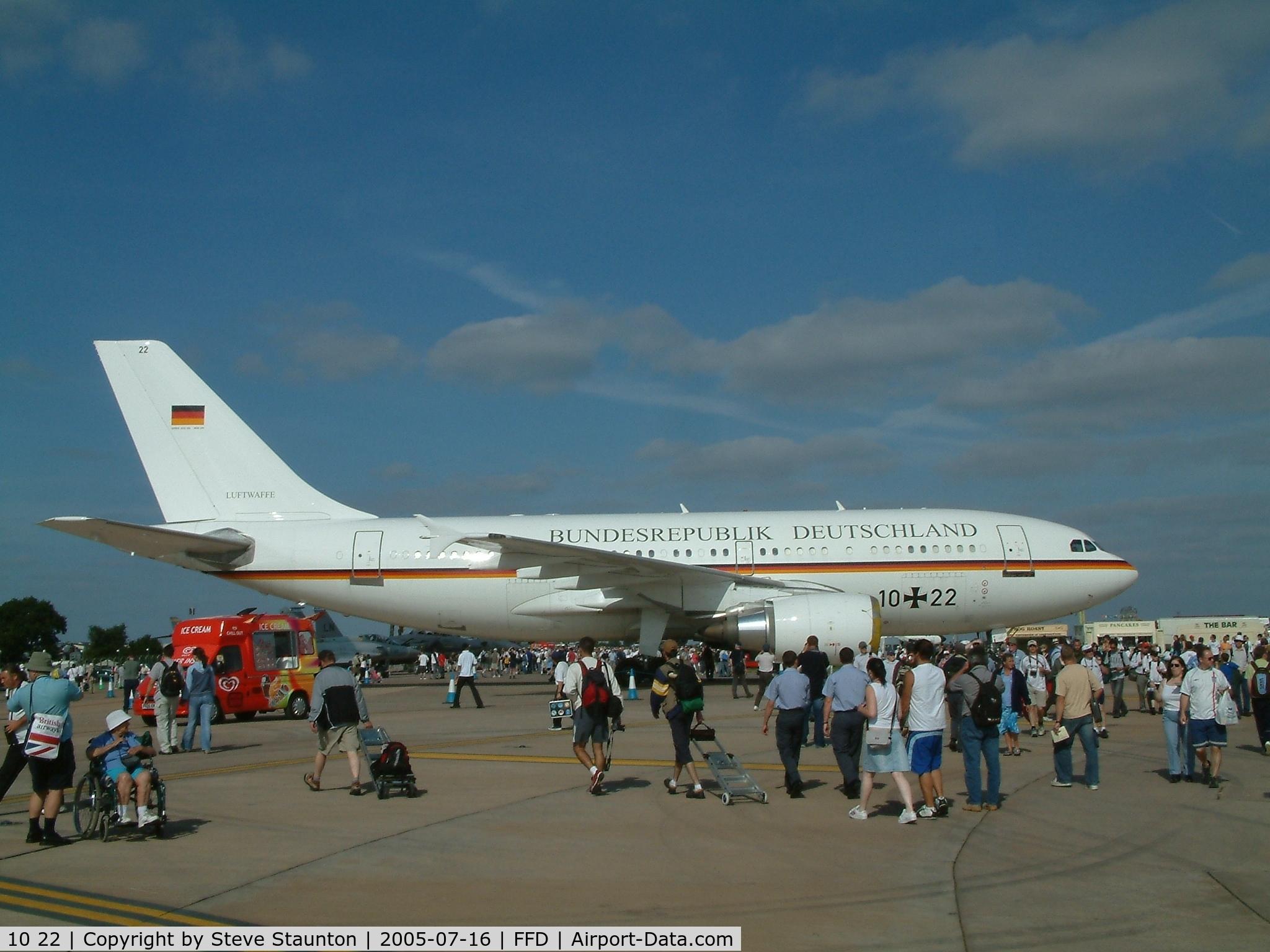 10 22, 1989 Airbus A310-304 C/N 499, Royal International Air Tattoo 2005