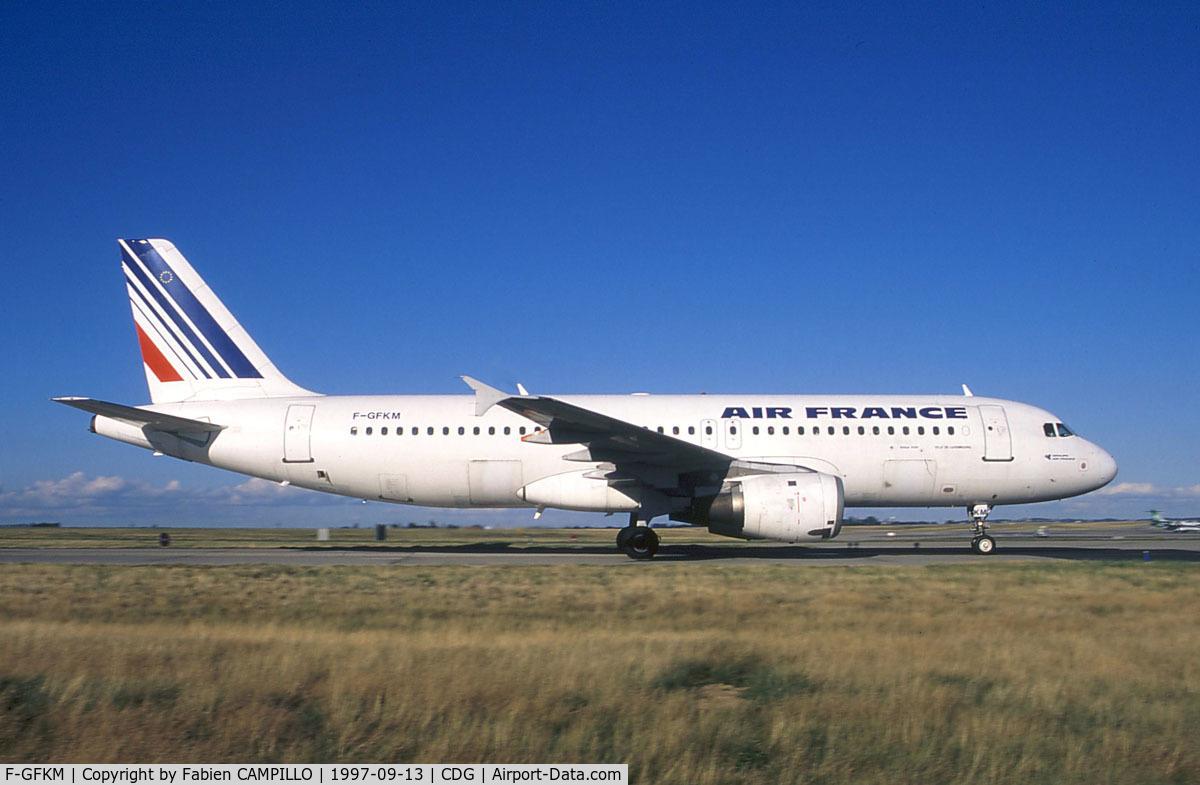 F-GFKM, 1990 Airbus A320-211 C/N 0102, Air France
