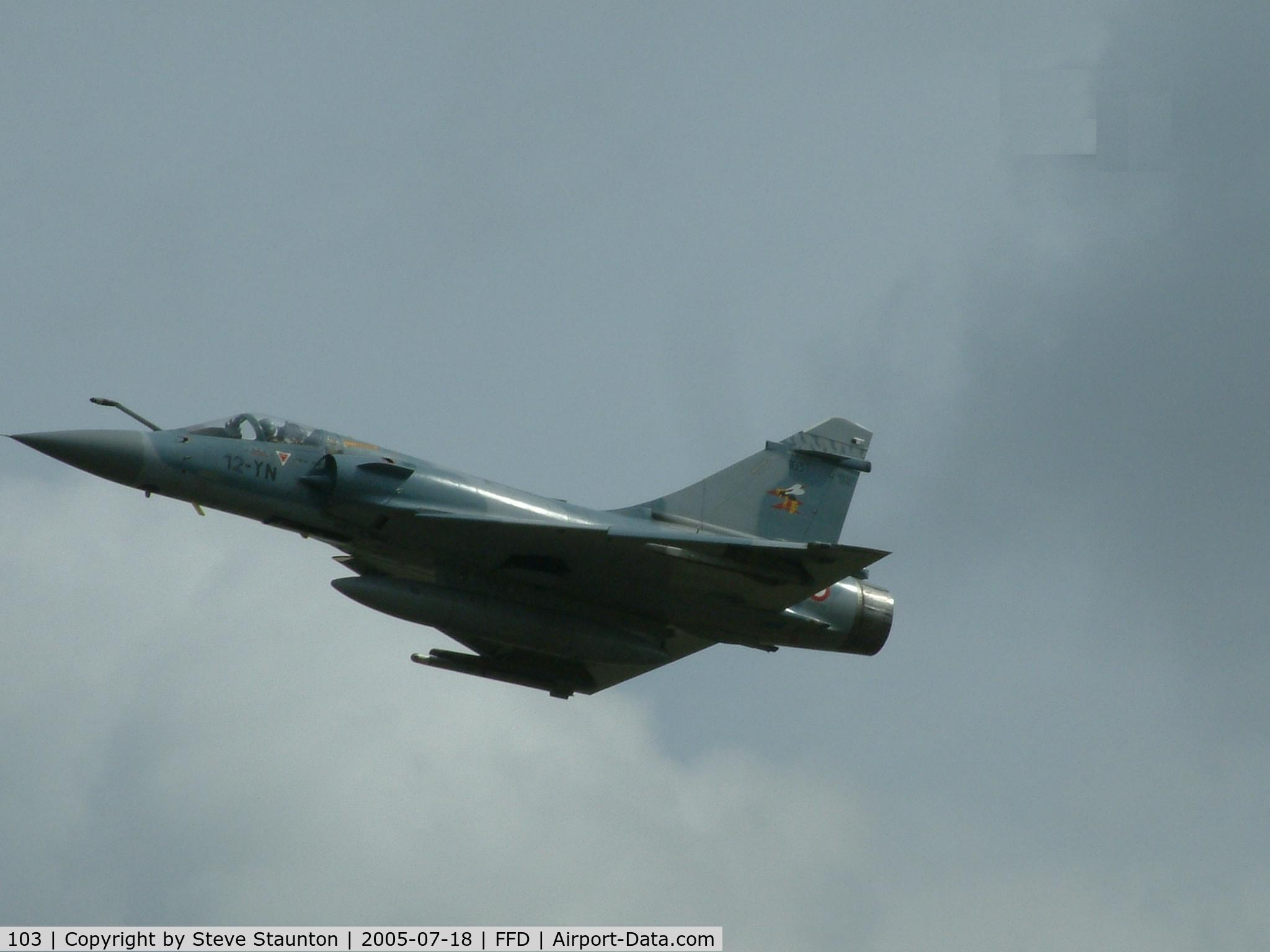 103, Dassault Mirage 2000C C/N 367, Royal International Air Tattoo 2005