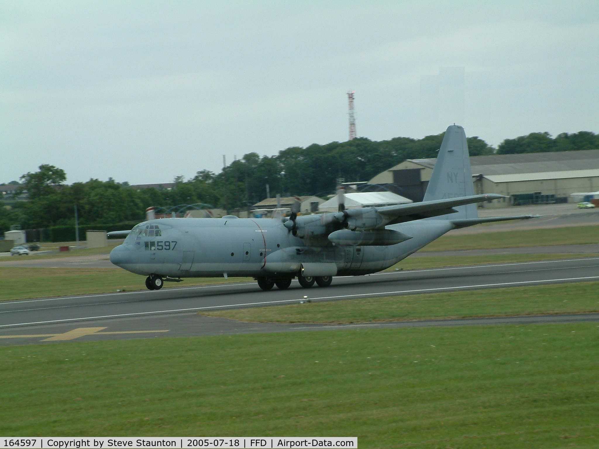 164597, Lockheed KC-130T-30 Hercules C/N 382-5260, Royal International Air Tattoo 2005