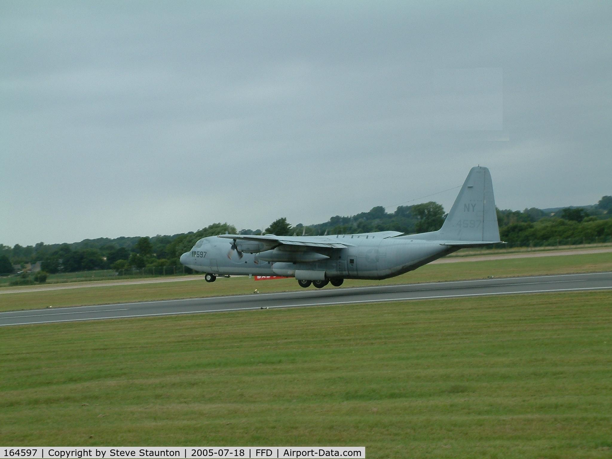 164597, Lockheed KC-130T-30 Hercules C/N 382-5260, Royal International Air Tattoo 2005