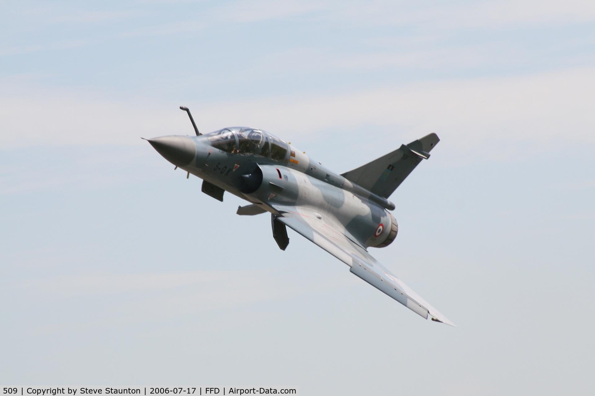 509, Dassault Mirage 2000B C/N 62, Royal International Air Tattoo 2006