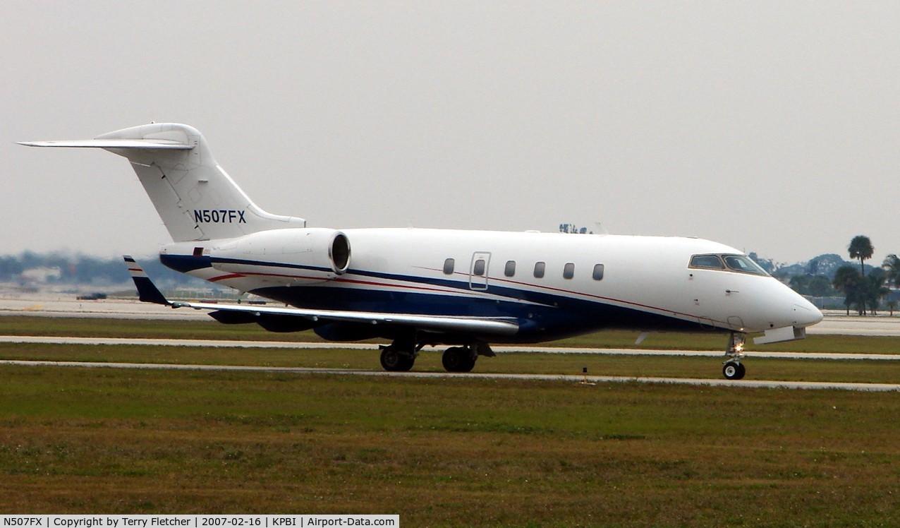 N507FX, 2003 Bombardier Challenger 300 (BD-100-1A10) C/N 20008, Bombardier BD-100