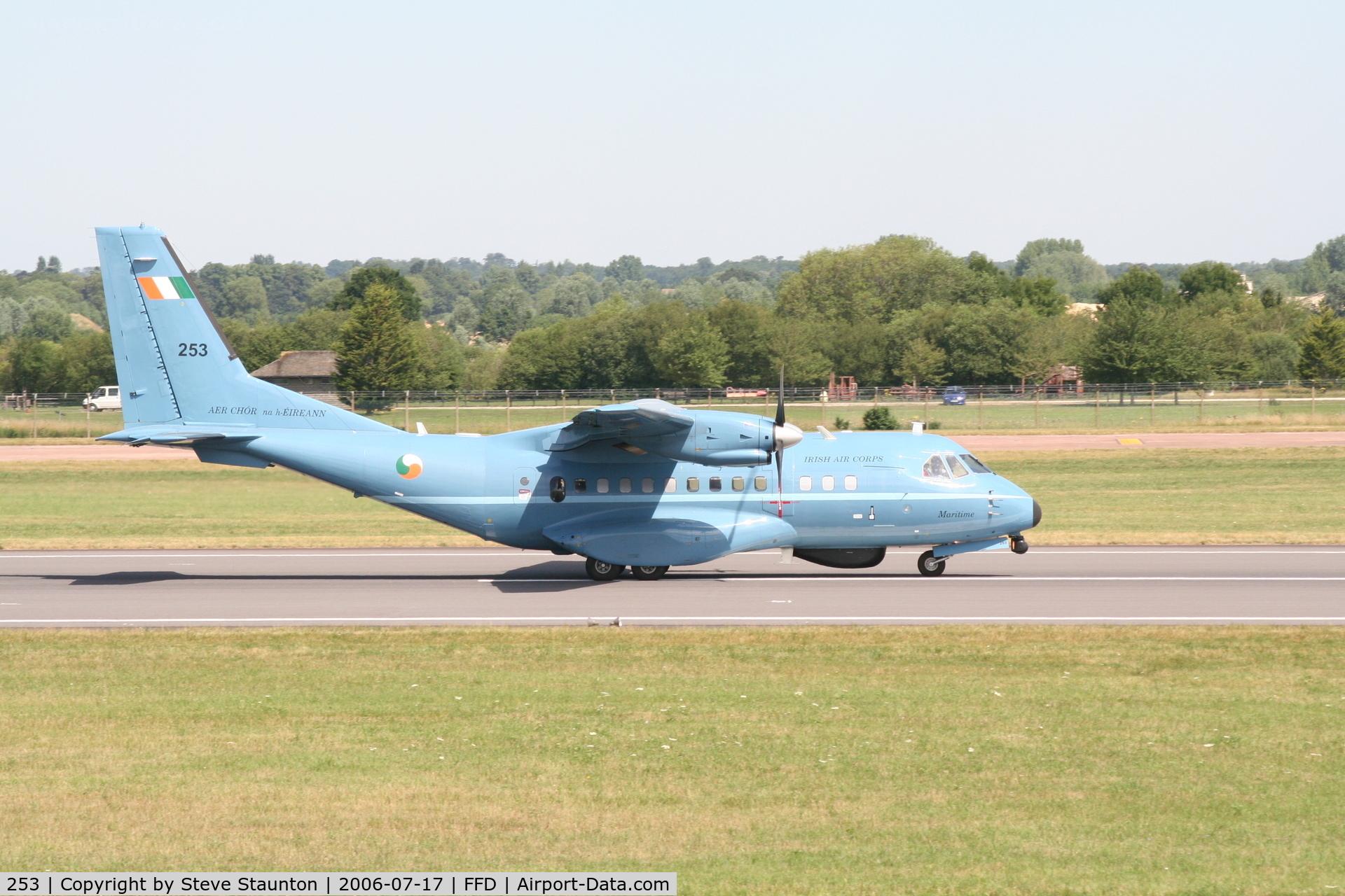 253, Airtech CN-235-100M C/N C094, Royal International Air Tattoo 2006