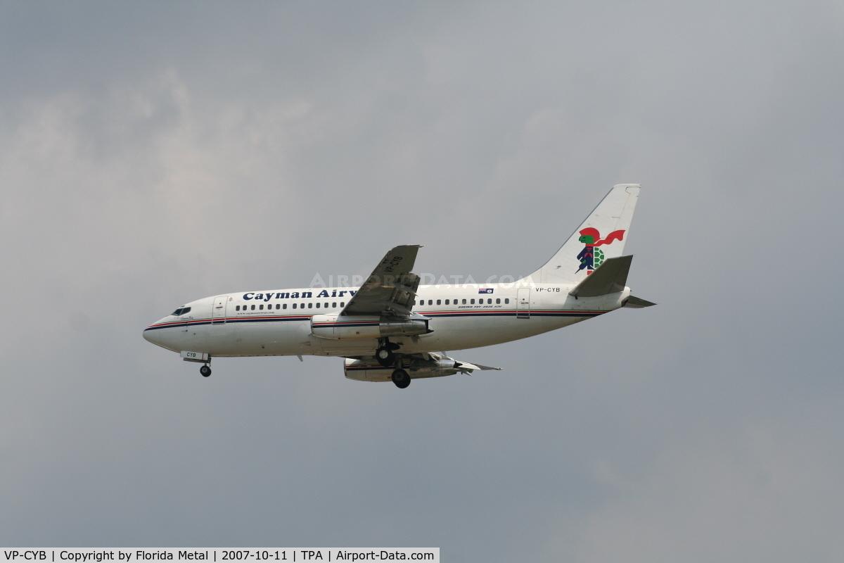 VP-CYB, 1979 Boeing 737-2S2C C/N 21929, Caymen Airways