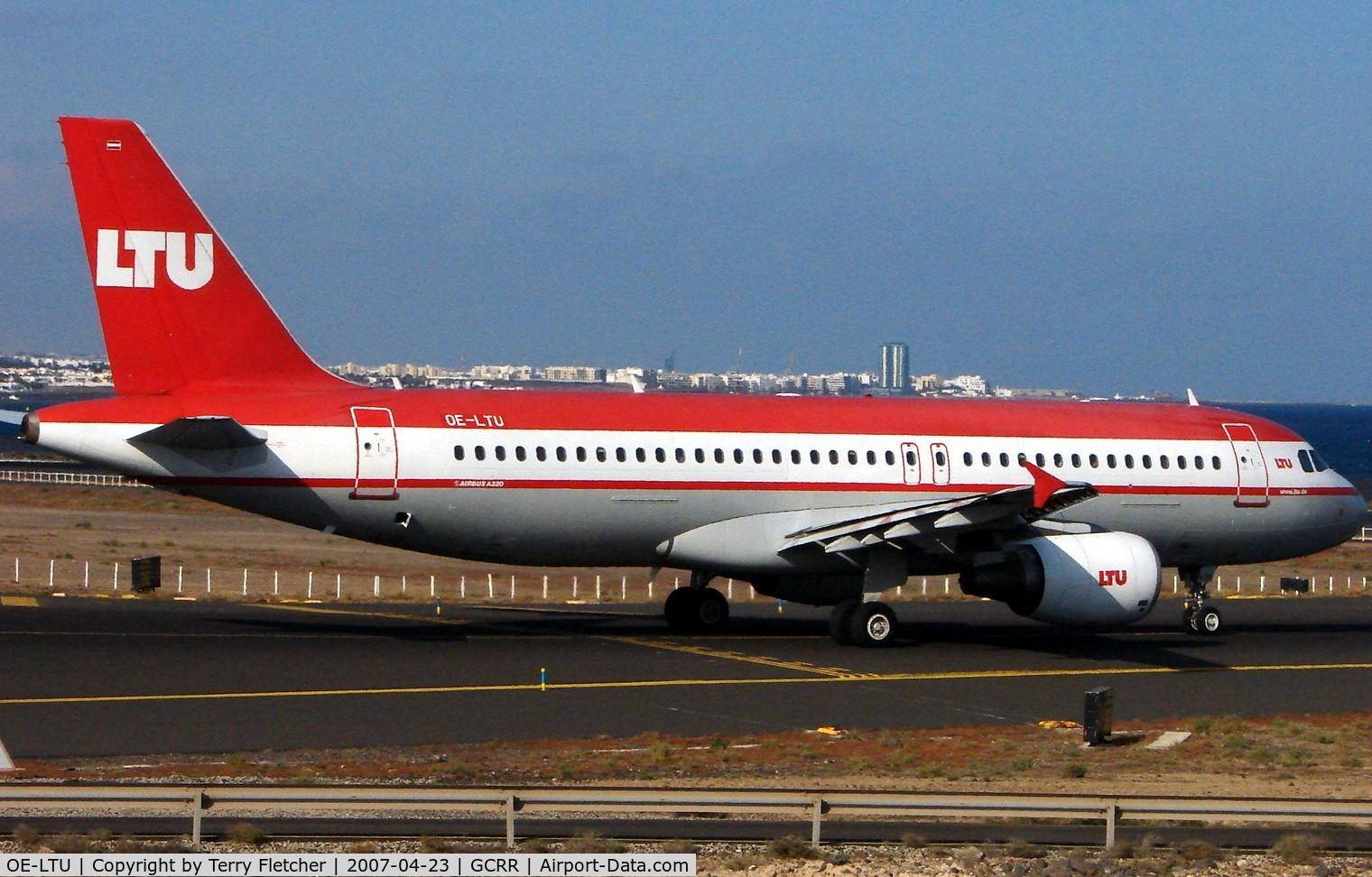 OE-LTU, 2001 Airbus A320-214 C/N 1504, LTU A320