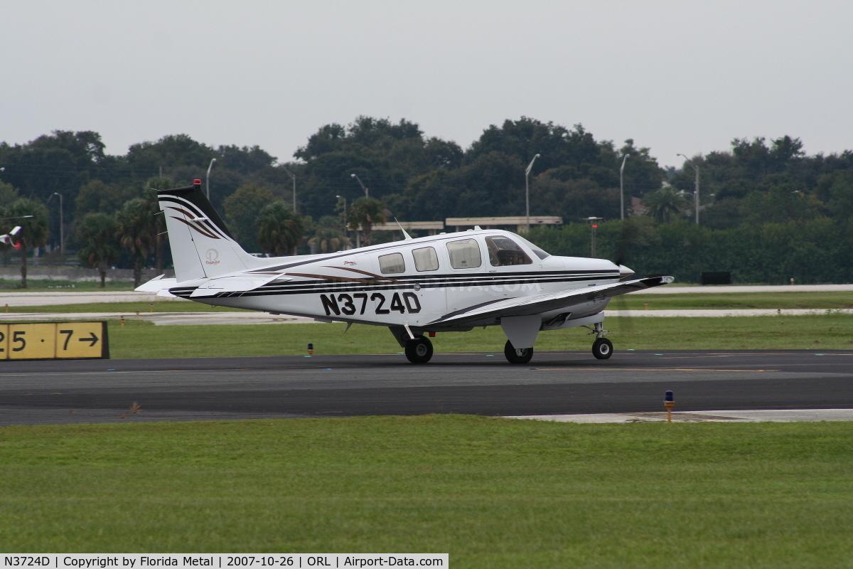 N3724D, Raytheon Aircraft Company A36 C/N E-3624, Beech 36