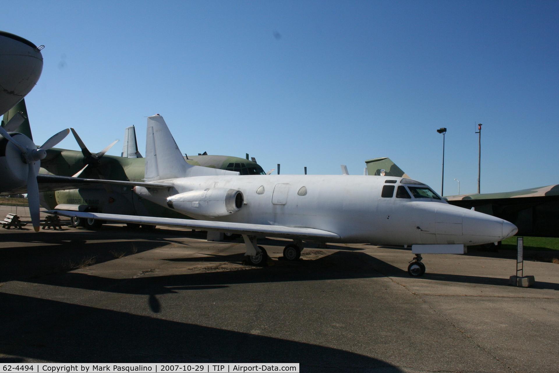62-4494, 1962 North American CT-39A Sabreliner C/N 276-47, North American T-39