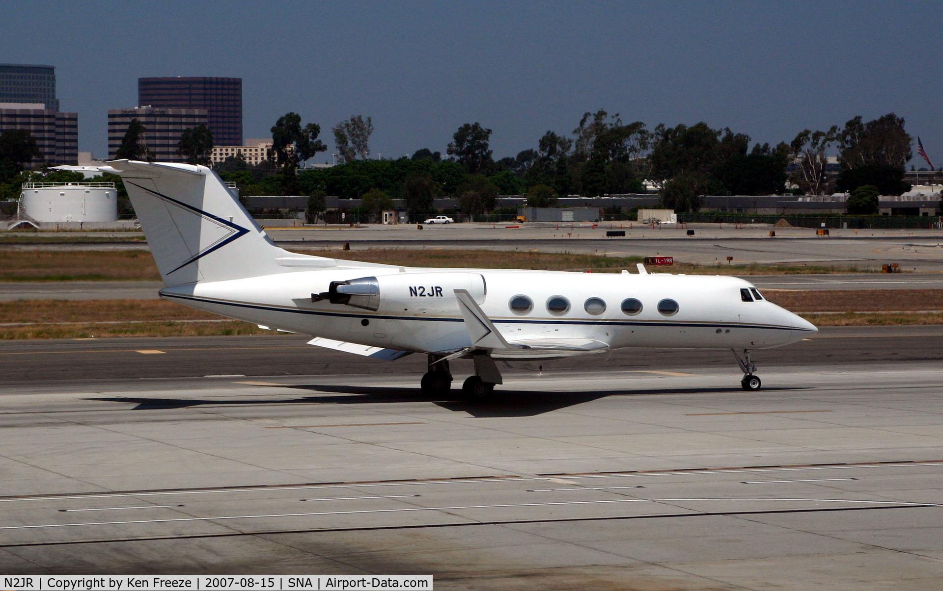 N2JR, 1973 Grumman G-1159B Gulfstream II C/N 131, At John Wayne Airport