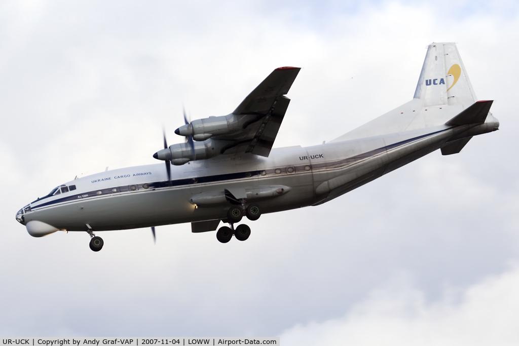 UR-UCK, Antonov An-12BK C/N 9346905, Ukraine Cargo Airlines AN12