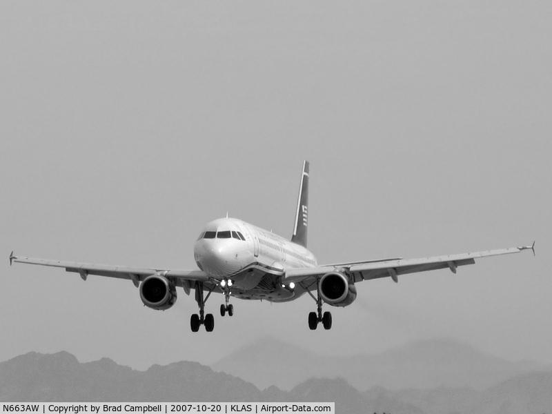 N663AW, 2001 Airbus A320-232 C/N 1419, US Airways / 2001 Airbus Industrie A320-232