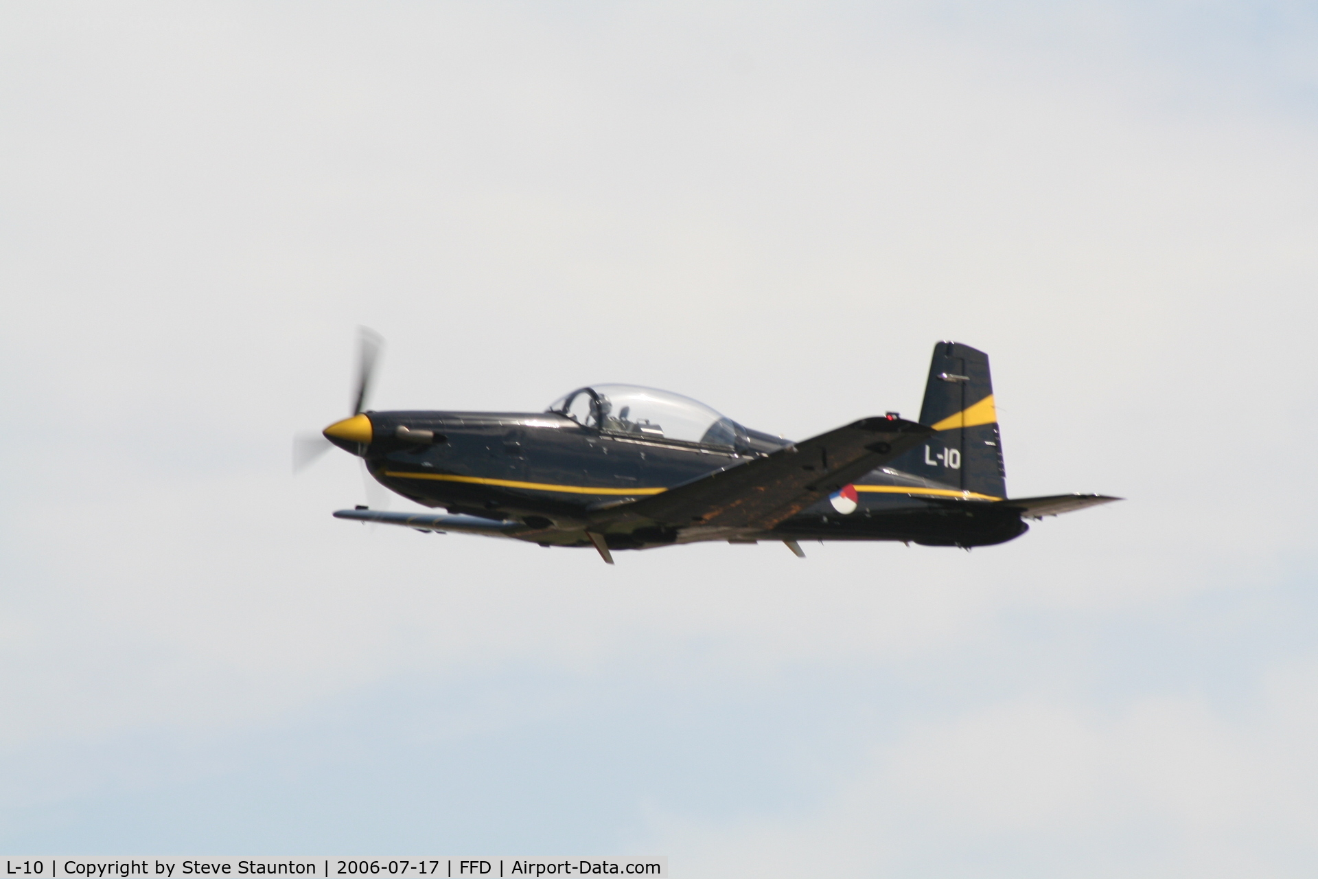 L-10, Pilatus PC-7 Turbo Trainer C/N 547, Royal International Air Tattoo 2006