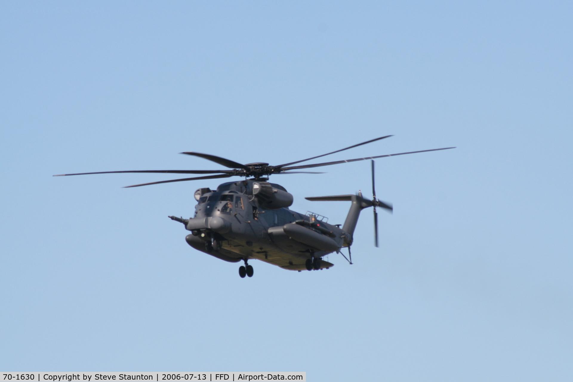 70-1630, 1970 Sikorsky MH-53M Pave Low IV C/N 65-340, Royal International Air Tattoo 2006