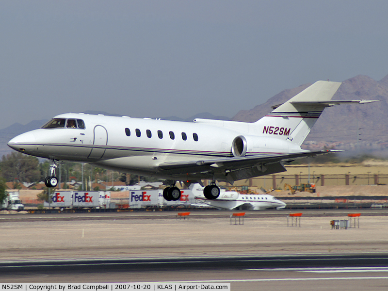 N52SM, 1992 British Aerospace BAe.125-1000A C/N 259010/NA1009, Sierra Pacific Industries - Redding, California / Delivered 1996 - British Aerospace BAe 125 Series 1000A