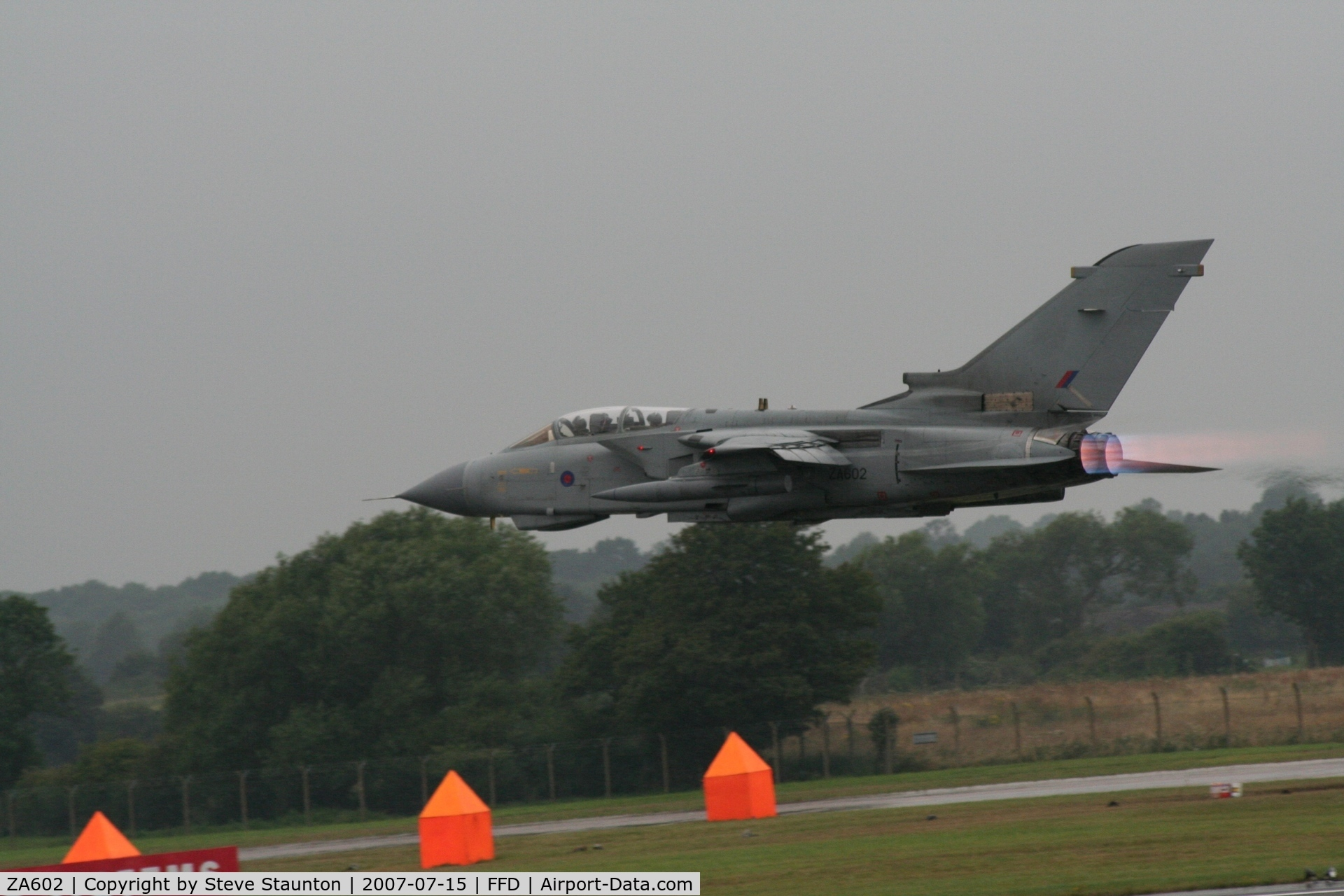 ZA602, 1982 Panavia Tornado GR.4 C/N 127/BT026/3066, Royal International Air Tattoo 2007
