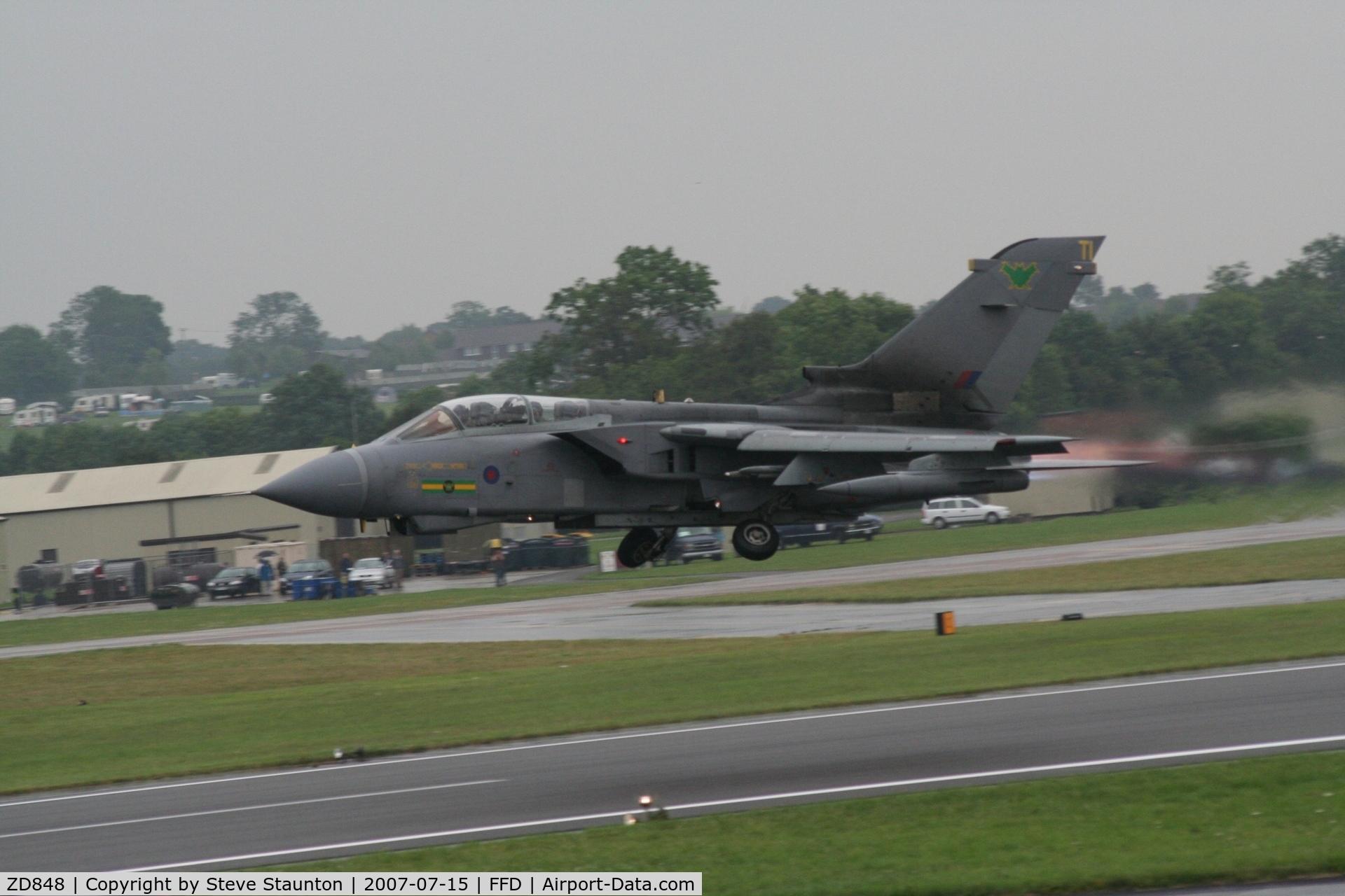 ZD848, 1985 Panavia Tornado GR.4 C/N 441/BS146/3201, Royal International Air Tattoo 2007