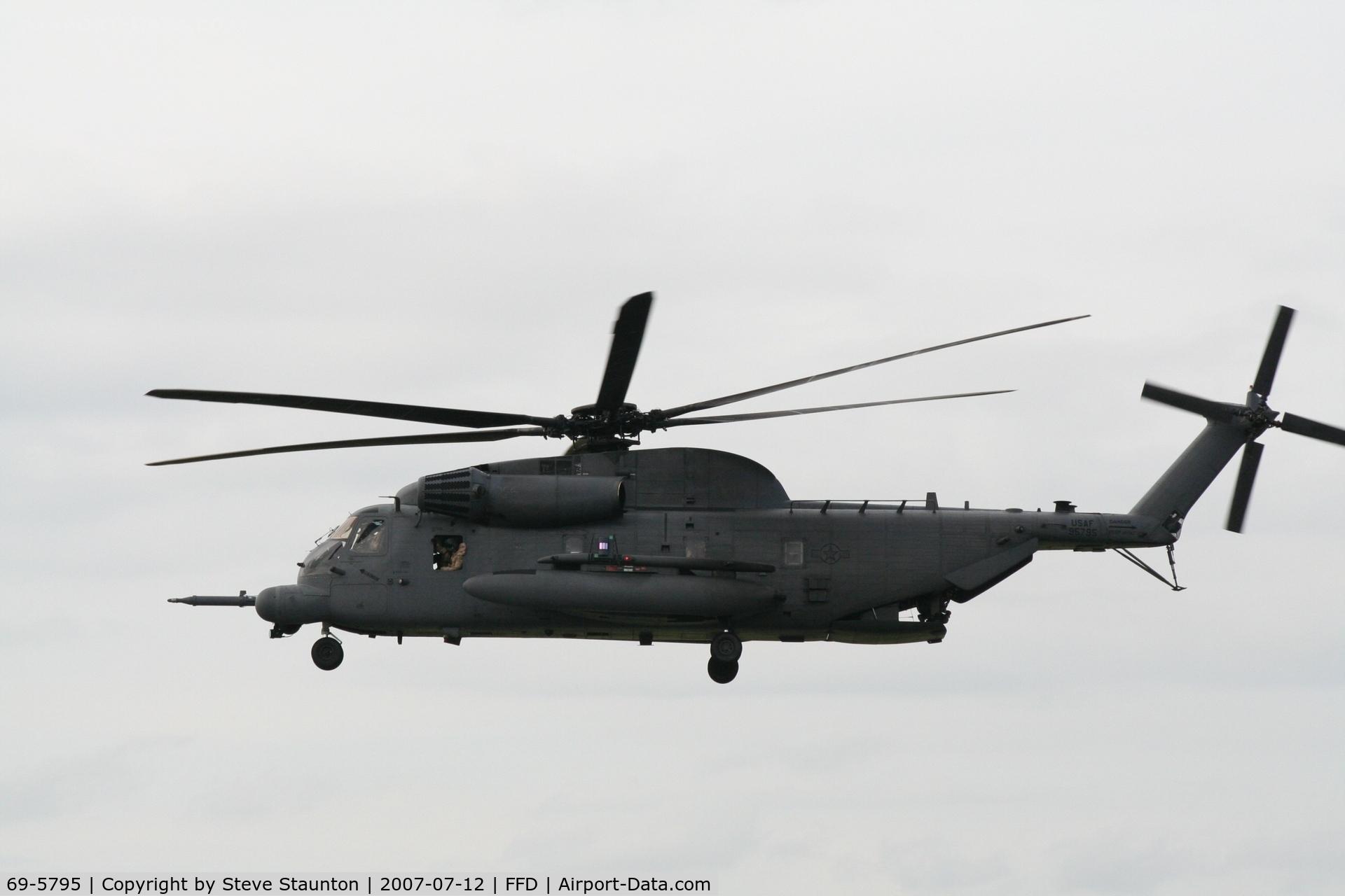69-5795, 1969 Sikorsky MH-53M Pave Low IV C/N 65-250, Royal International Air Tattoo 2007