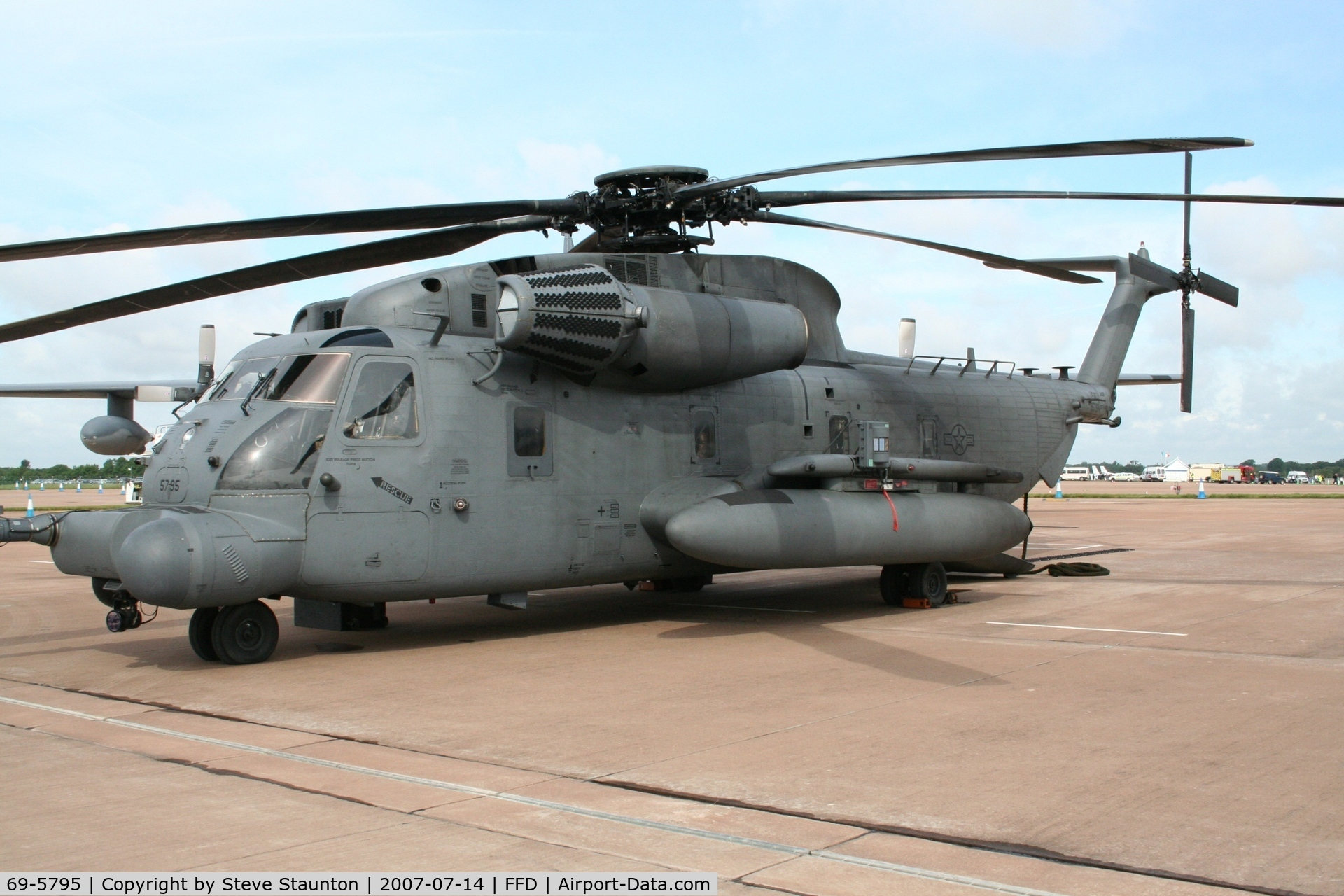 69-5795, 1969 Sikorsky MH-53M Pave Low IV C/N 65-250, Royal International Air Tattoo 2007