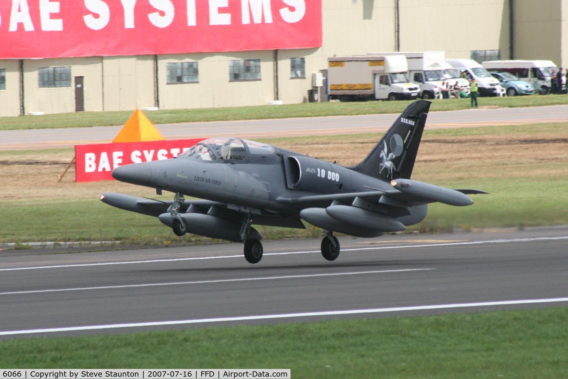6066, Aero L-159A ALCA C/N 156066, Royal International Air Tattoo 2007