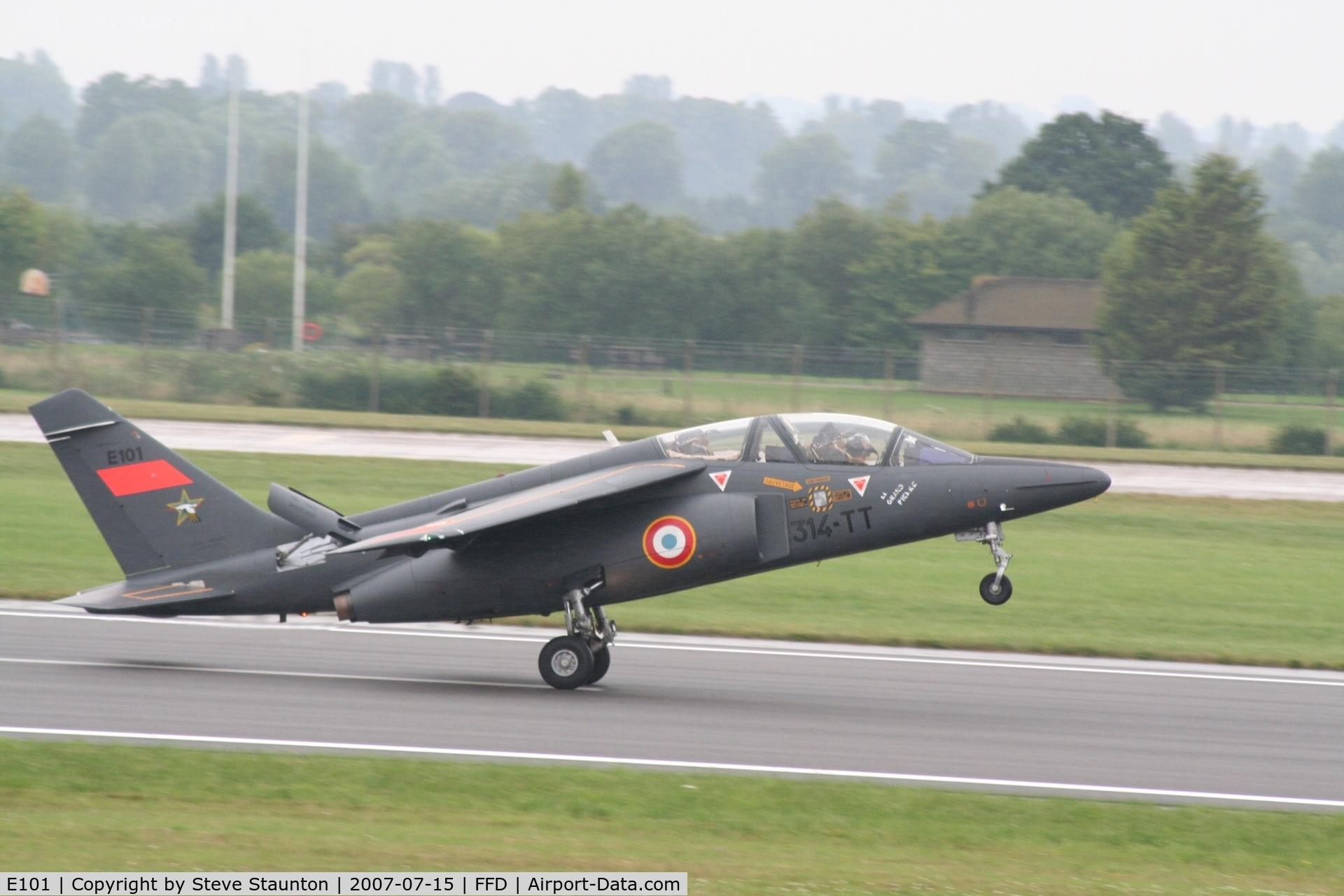 E101, Dassault-Dornier Alpha Jet E C/N E101, Royal International Air Tattoo 2007