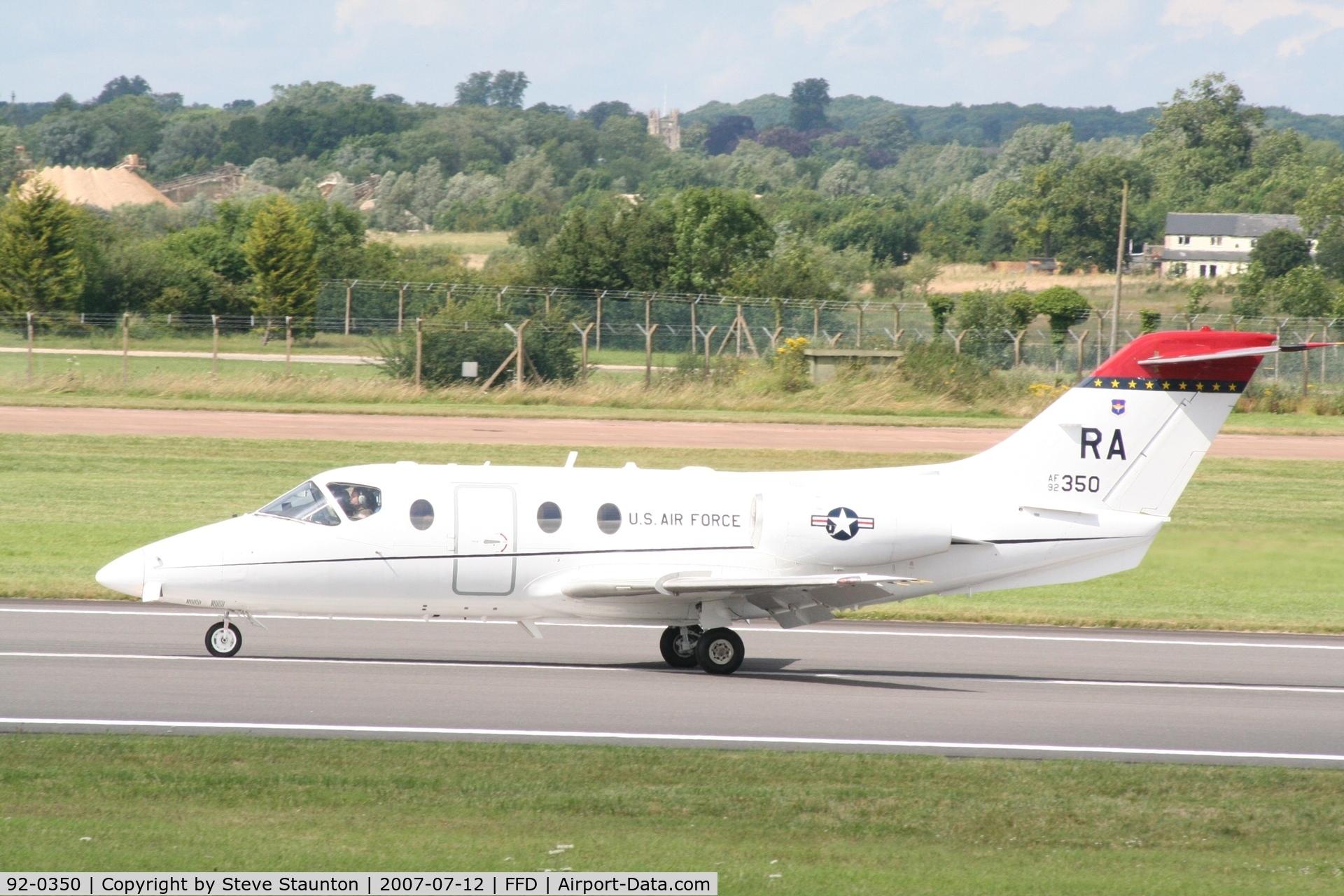 92-0350, 1992 Beechcraft T-1A Jayhawk C/N TT-64, Royal International Air Tattoo 2007
