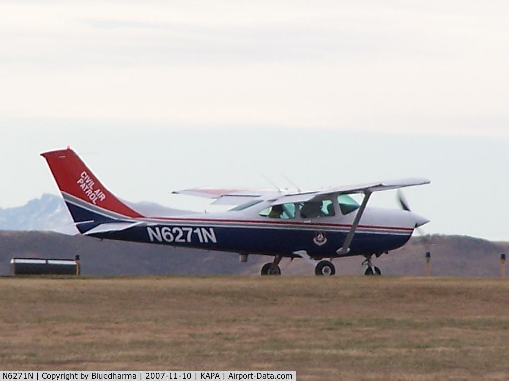 N6271N, Cessna 182R Skylane C/N 18267815, Taxi to takeoff ( civil air patrol )