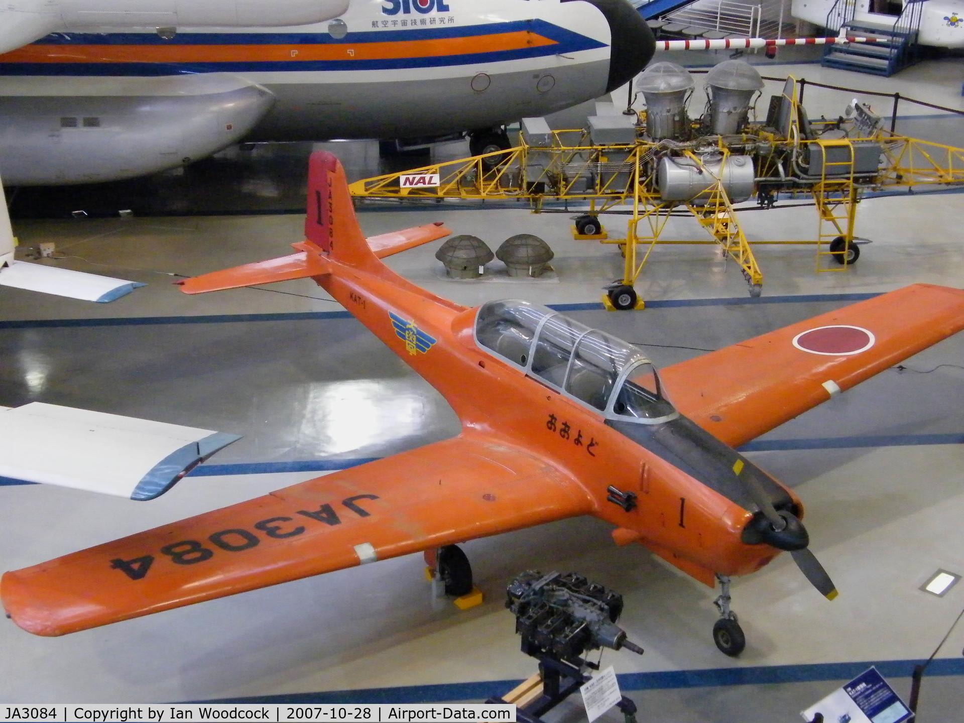 JA3084, Kawasaki KAT-1 C/N 001, Kawasaki KAT-1/Gifu Museum
