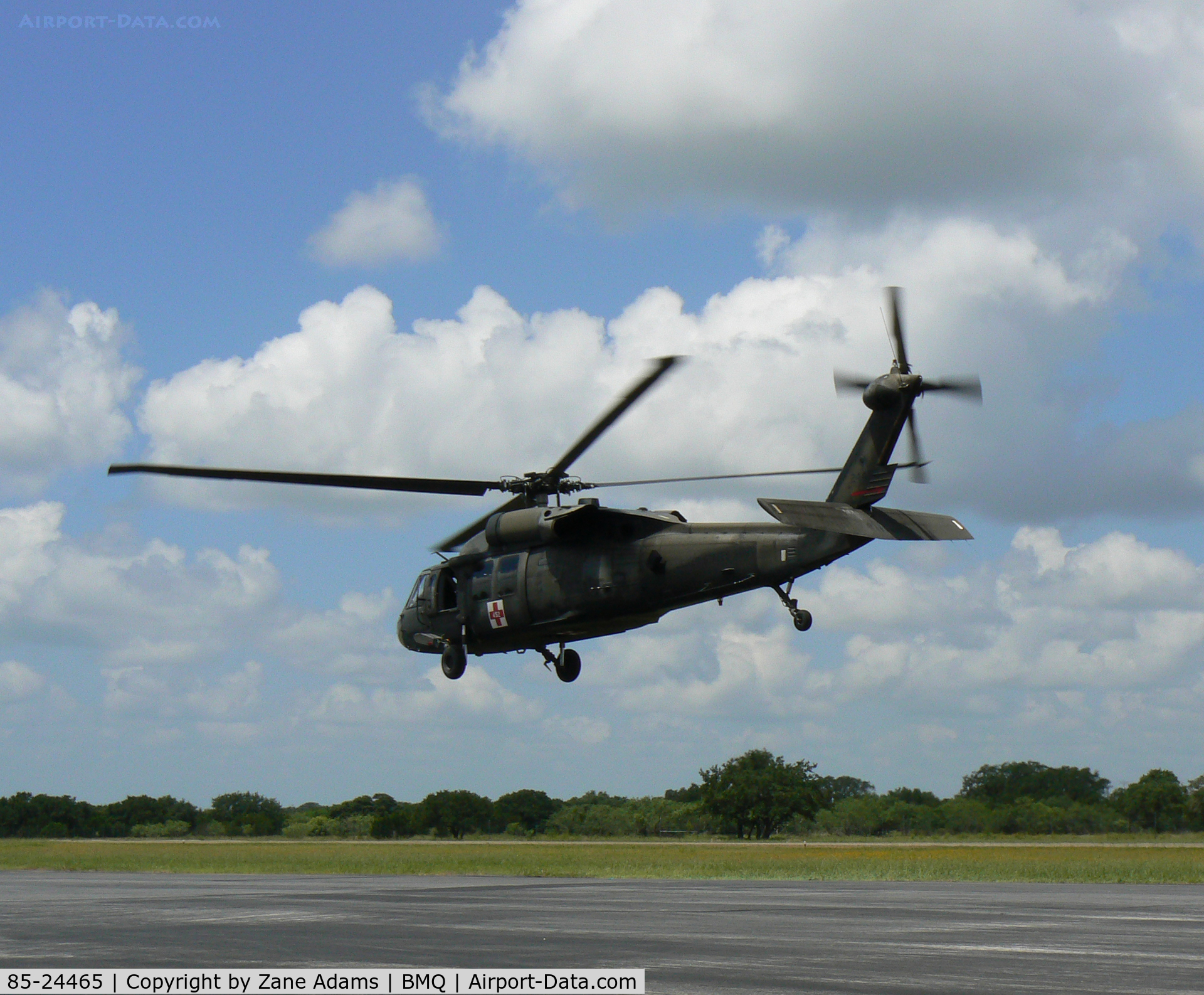 85-24465, 1985 Sikorsky EH-60A Black Hawk C/N 70-999, At Burnet Muni