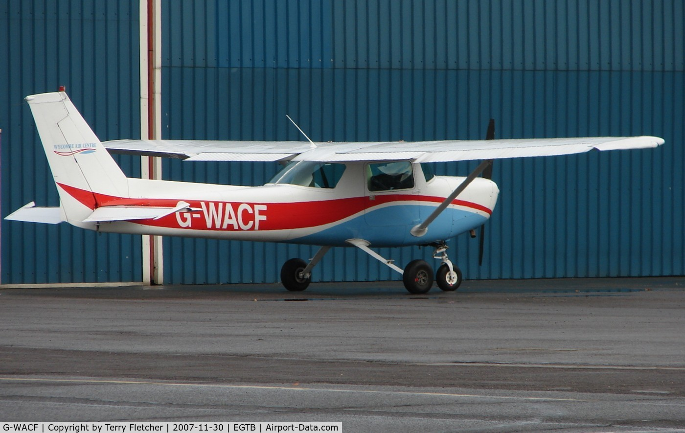 G-WACF, 1980 Cessna 152 C/N 152-84852, C152 at Wycombe Air Park - Booker Airfield